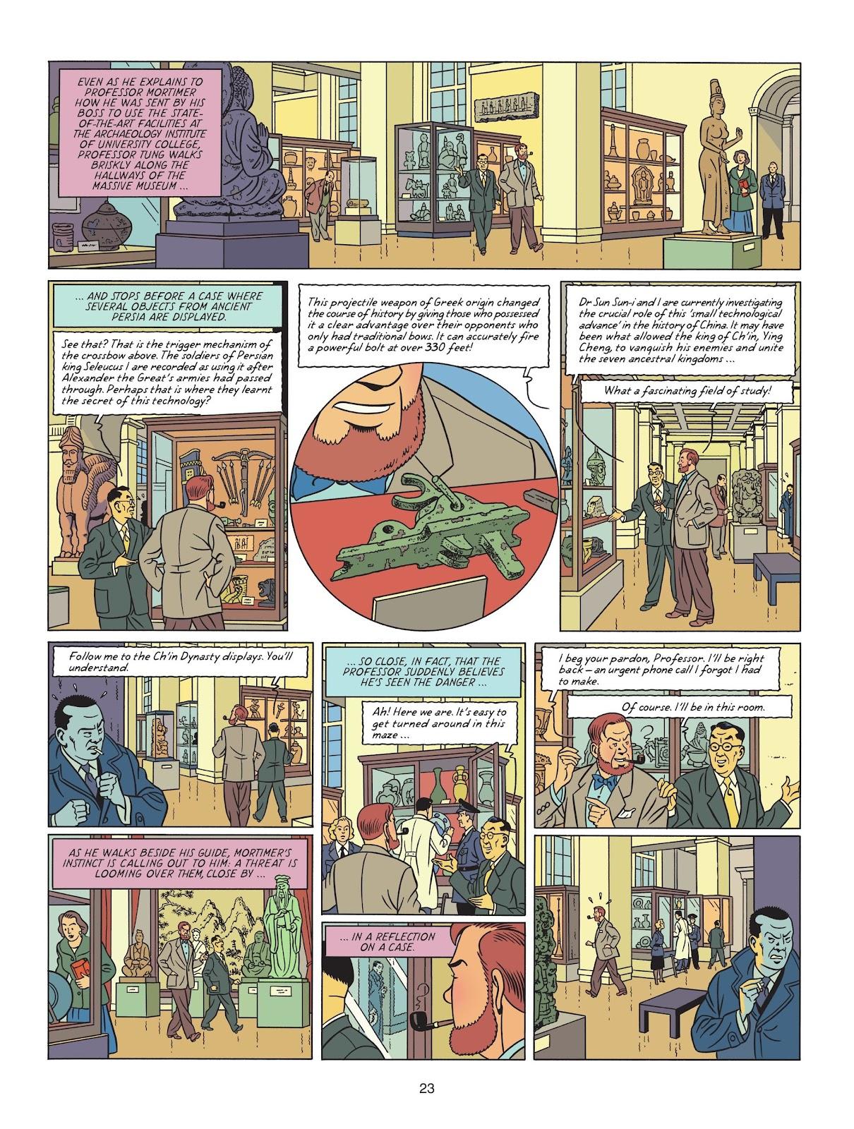 Read online Blake & Mortimer comic -  Issue #25 - 25