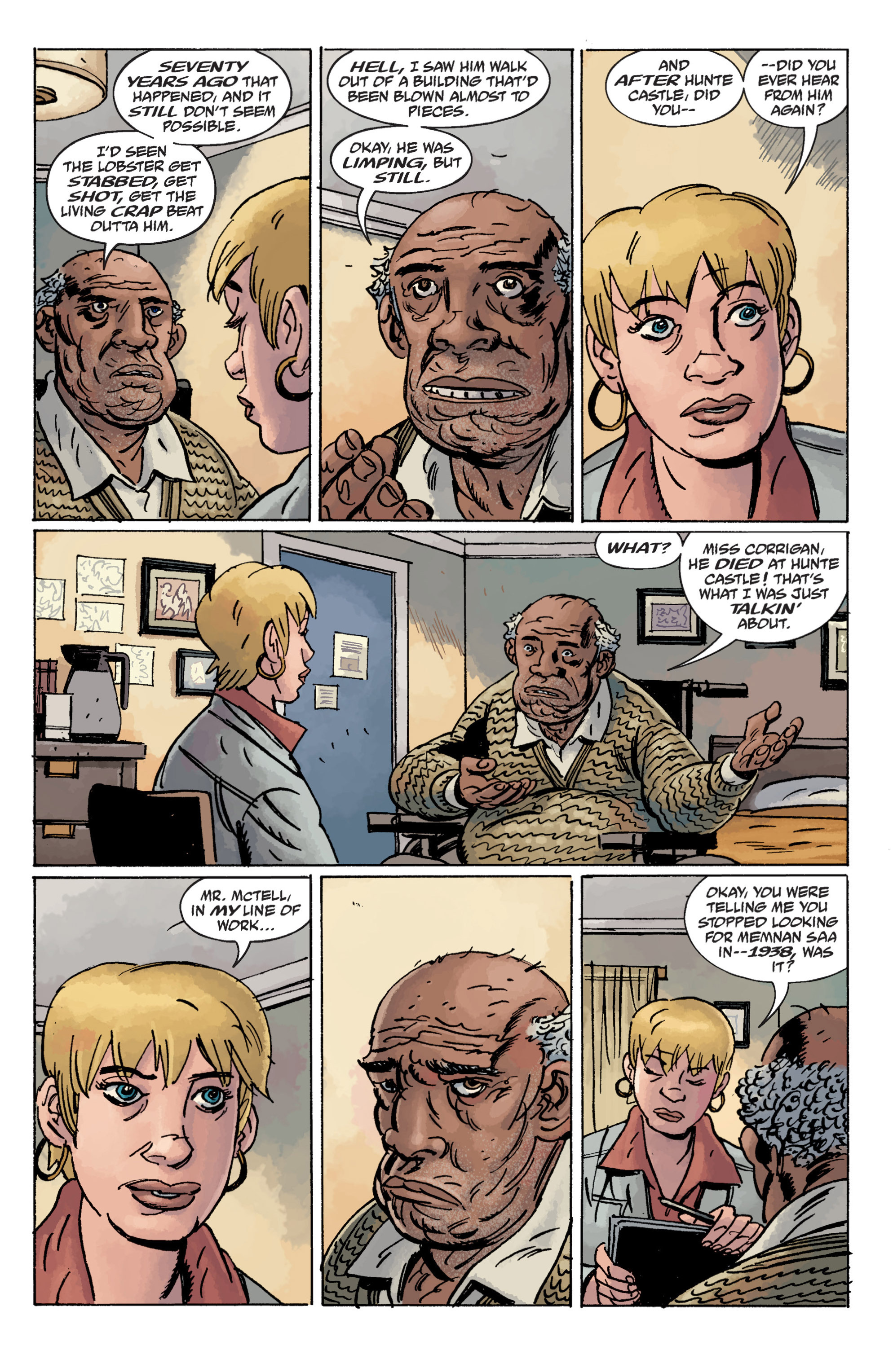 Read online B.P.R.D. (2003) comic -  Issue # TPB 11 - 27