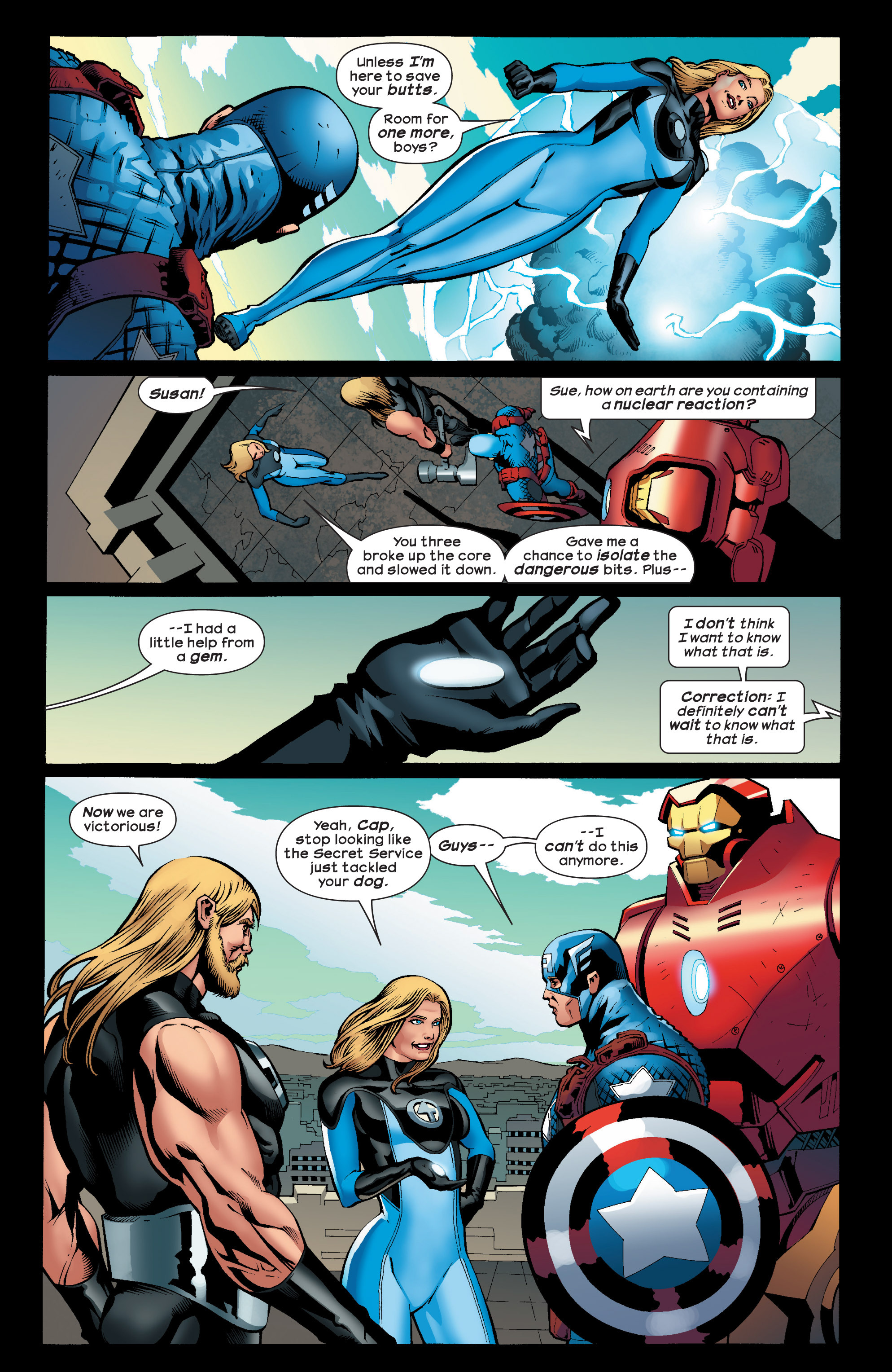 Read online Ultimate Comics Ultimates comic -  Issue #24 - 19