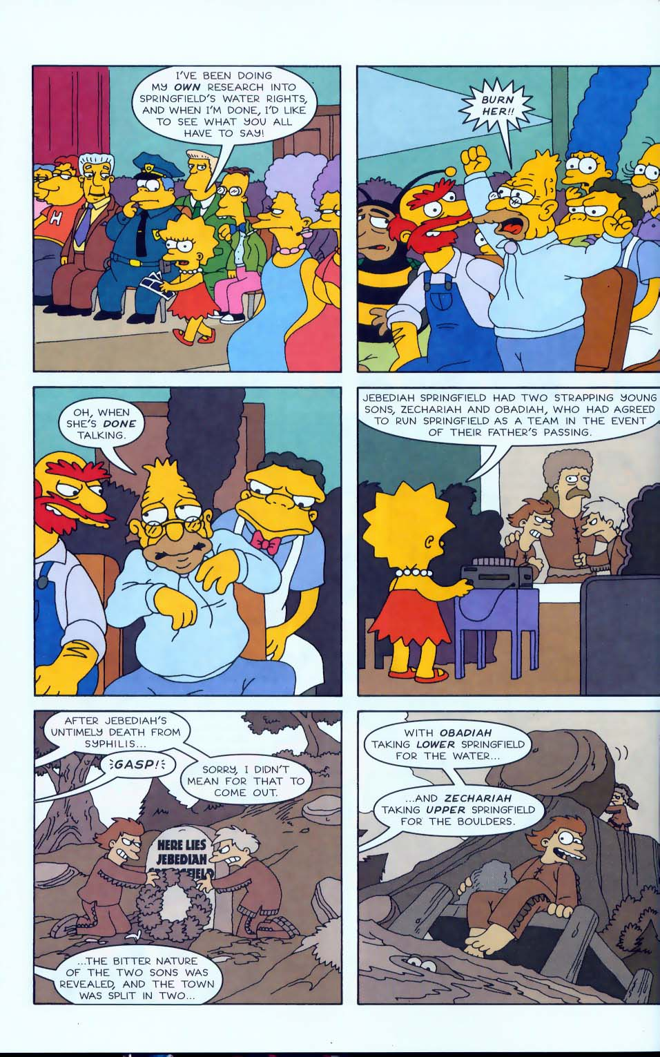Read online Simpsons Comics comic -  Issue #50 - 9