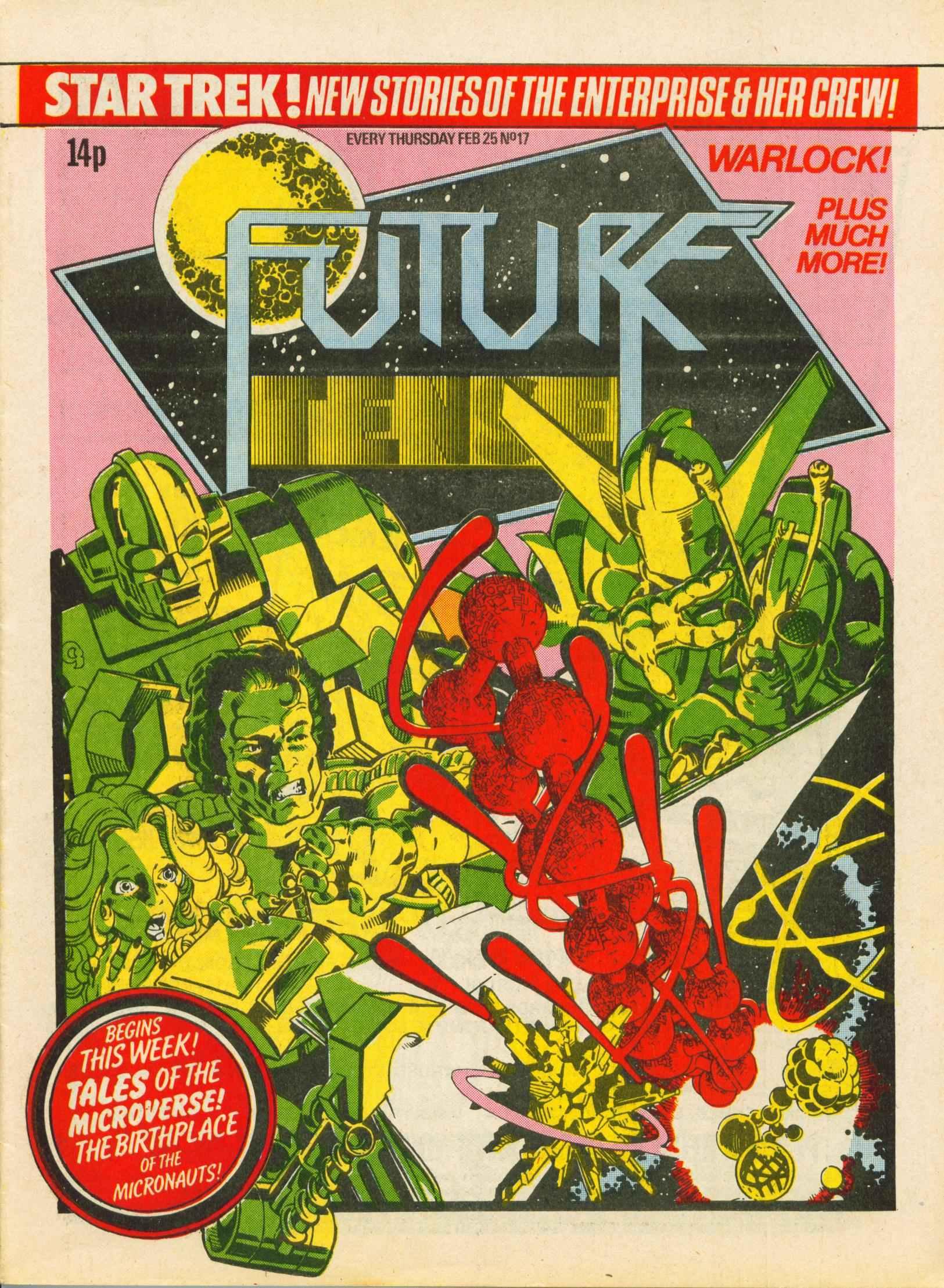 Read online Future Tense comic -  Issue #17 - 1
