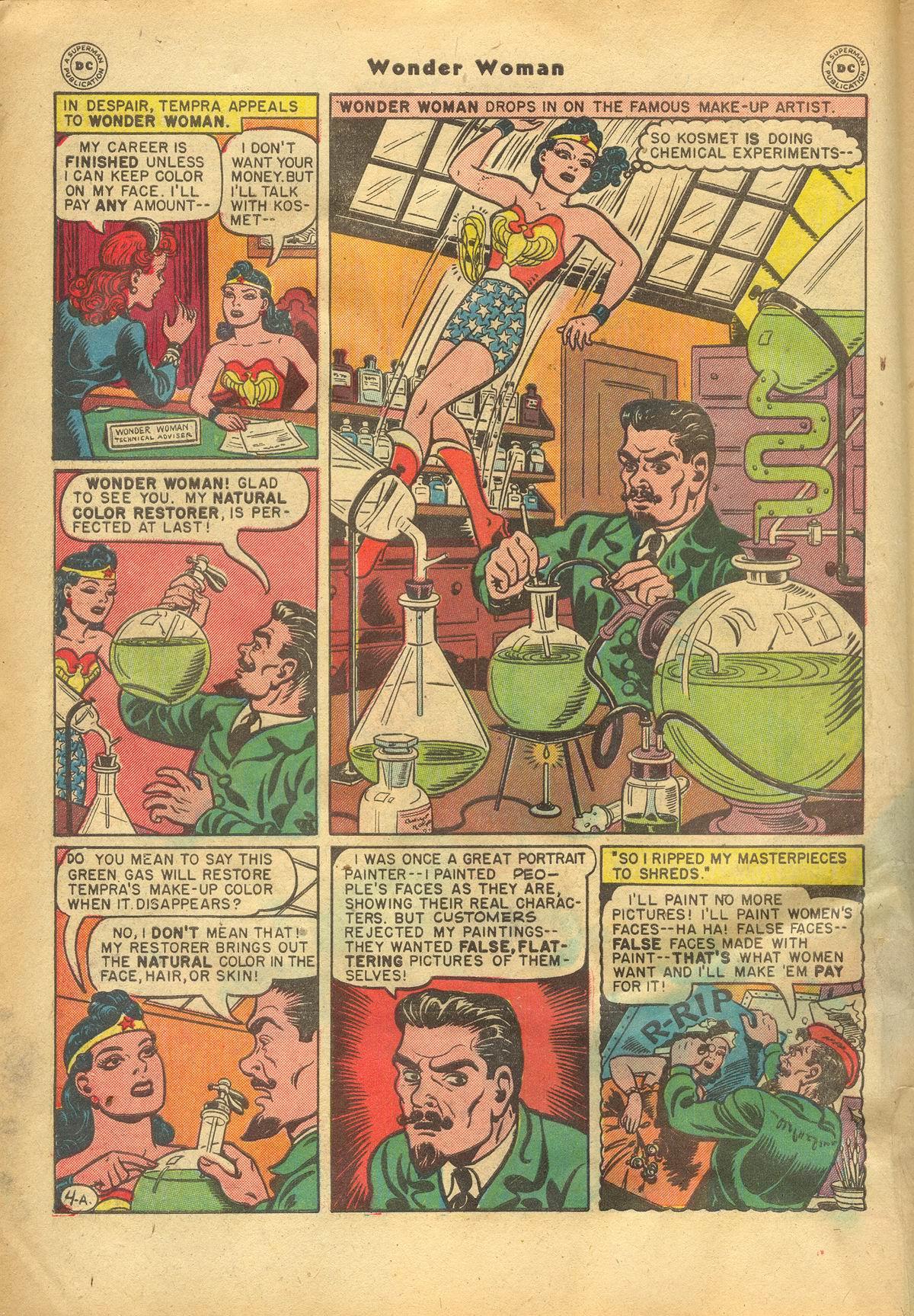 Read online Wonder Woman (1942) comic -  Issue #22 - 6