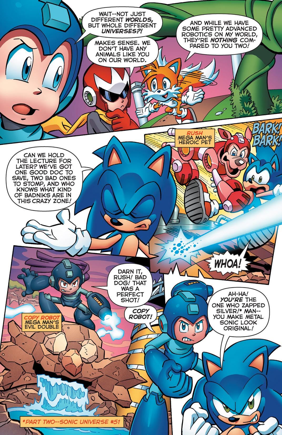 Read online Sonic Mega Man Worlds Collide comic -  Issue # Vol 2 - 12