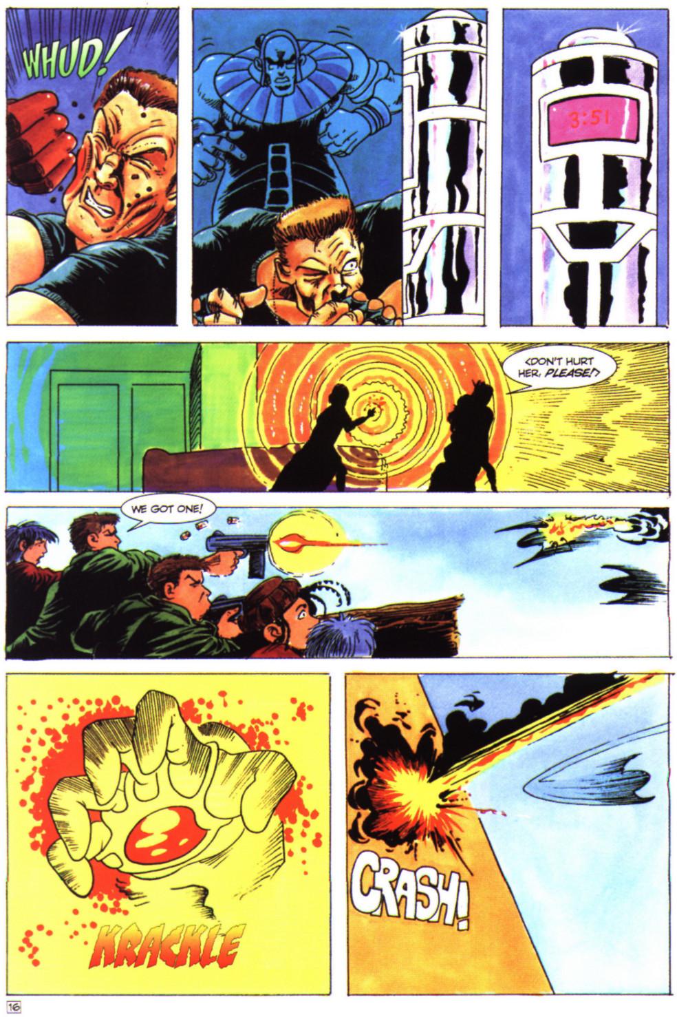 Read online Stargate comic -  Issue #4 - 18