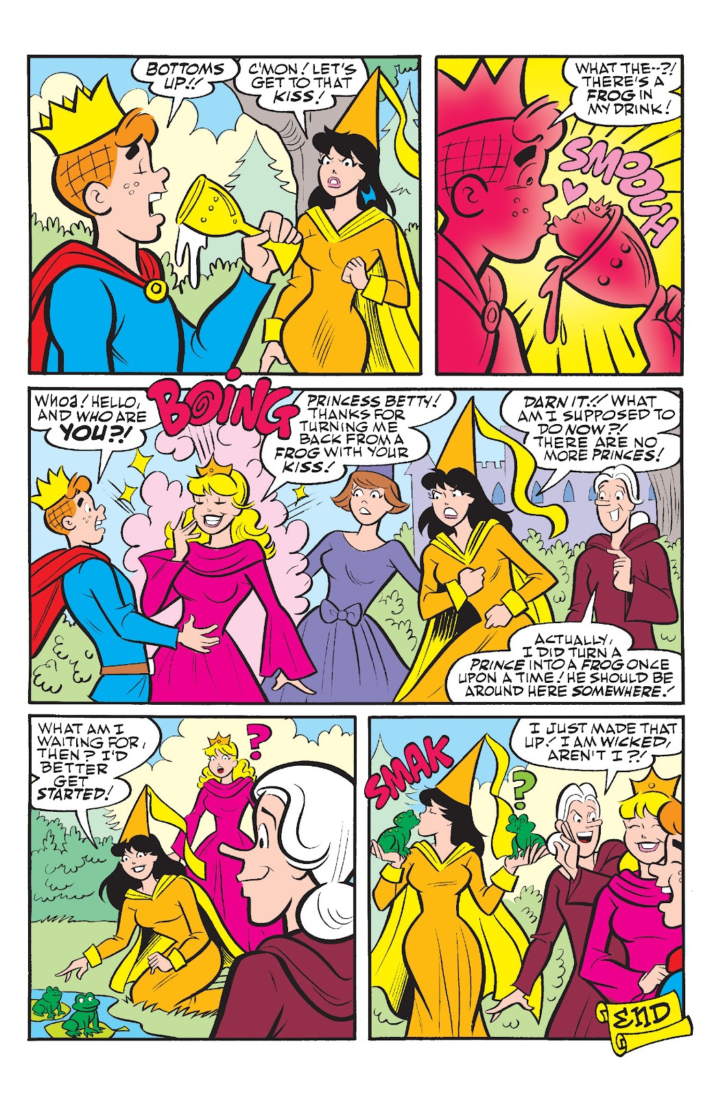 Read online Betty & Veronica Friends Forever: Return To Storybook Land comic -  Issue # Full - 12