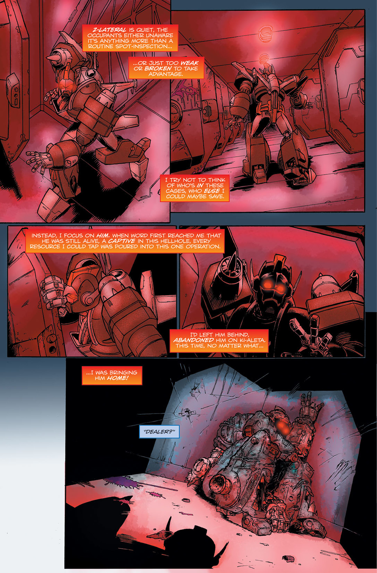 Read online Transformers Spotlight: Hot Rod comic -  Issue # Full - 18