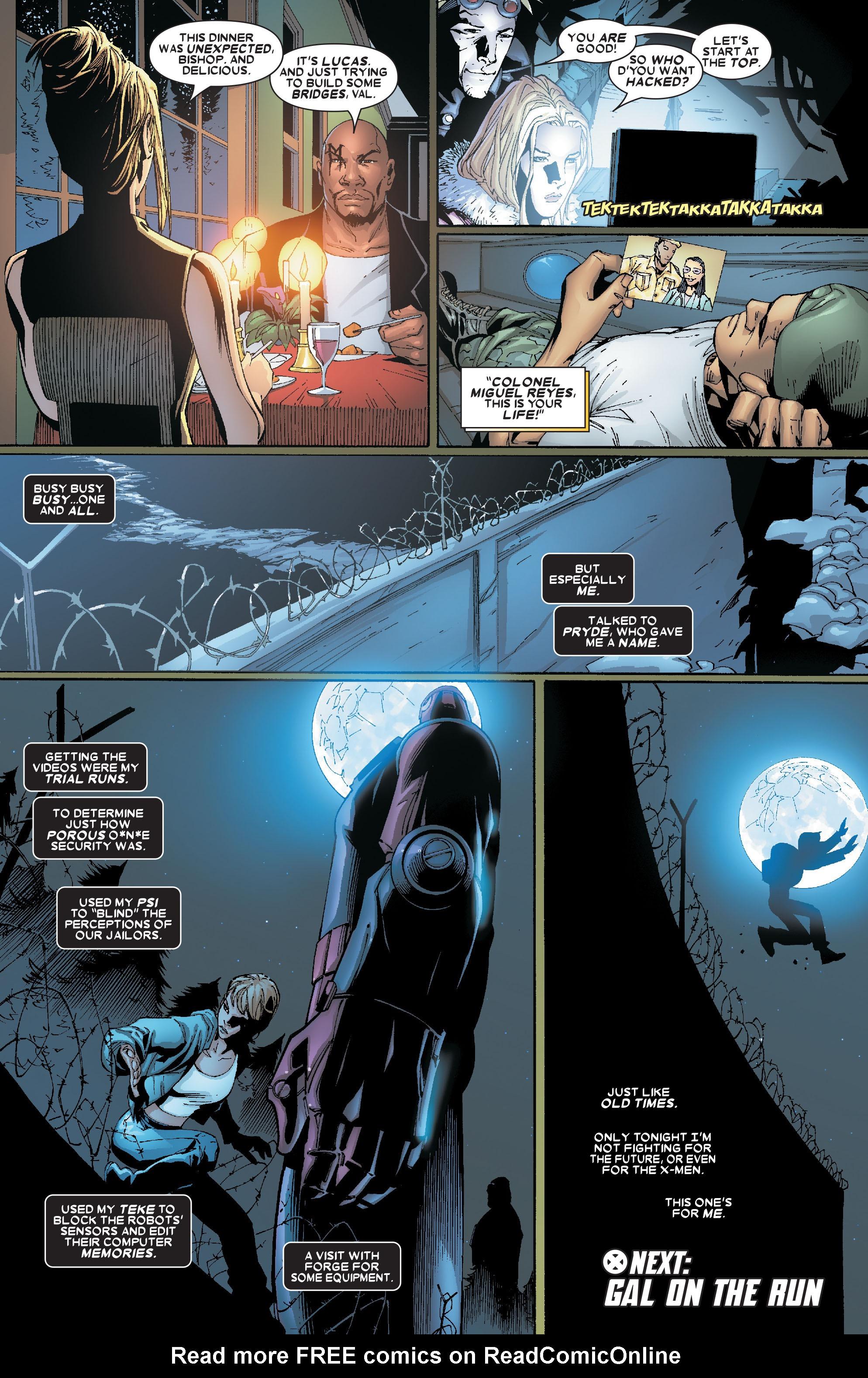 Read online Uncanny X-Men (1963) comic -  Issue #469 - 23