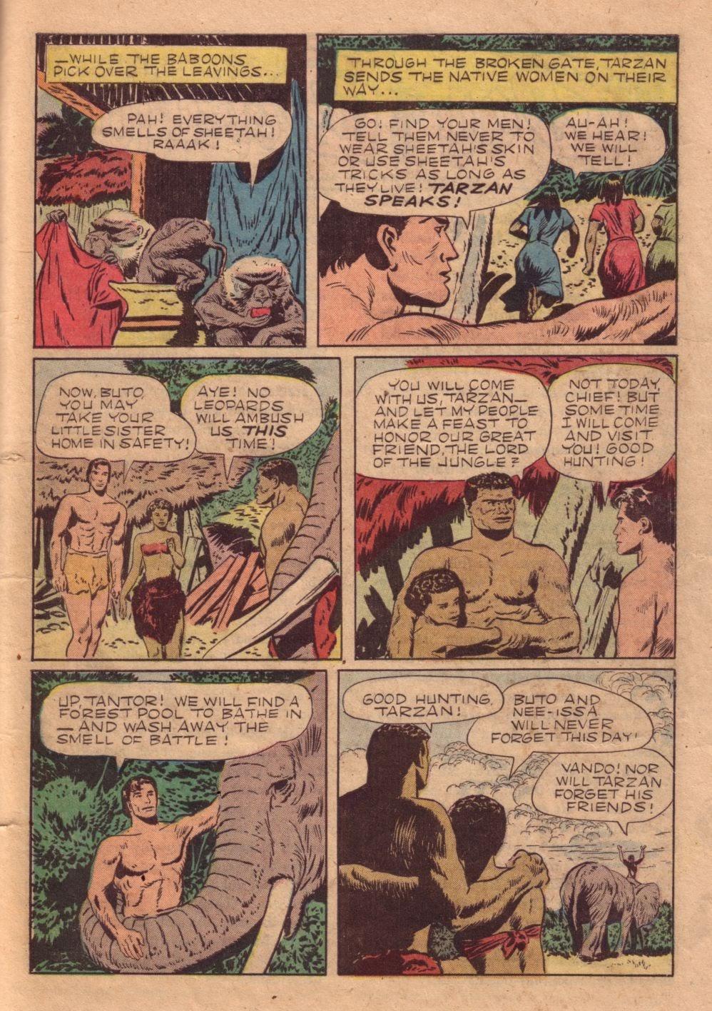 Tarzan (1948) issue 40 - Page 41