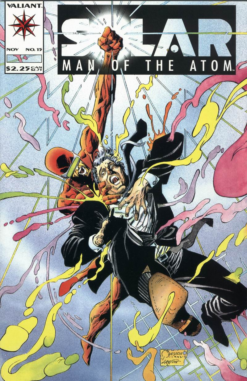 Read online Solar, Man of the Atom comic -  Issue #15 - 1