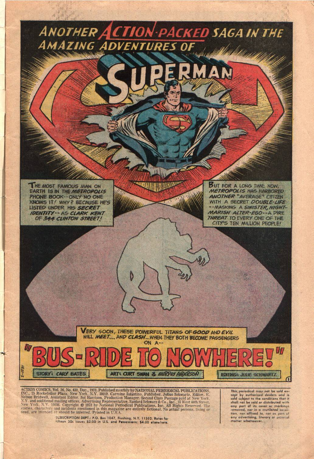 Read online Action Comics (1938) comic -  Issue #430 - 3