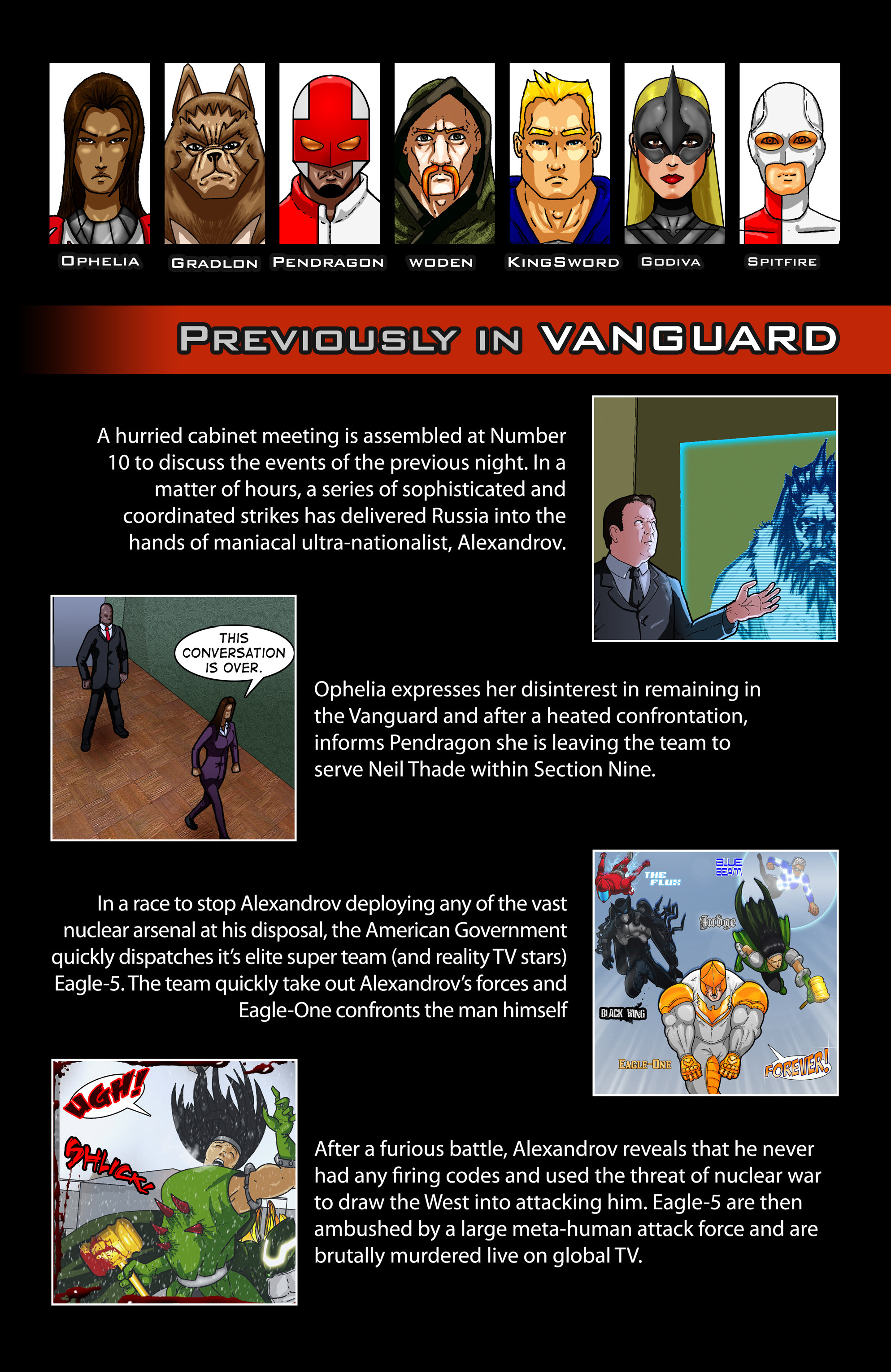 Read online Vanguard (2015) comic -  Issue #4 - 3