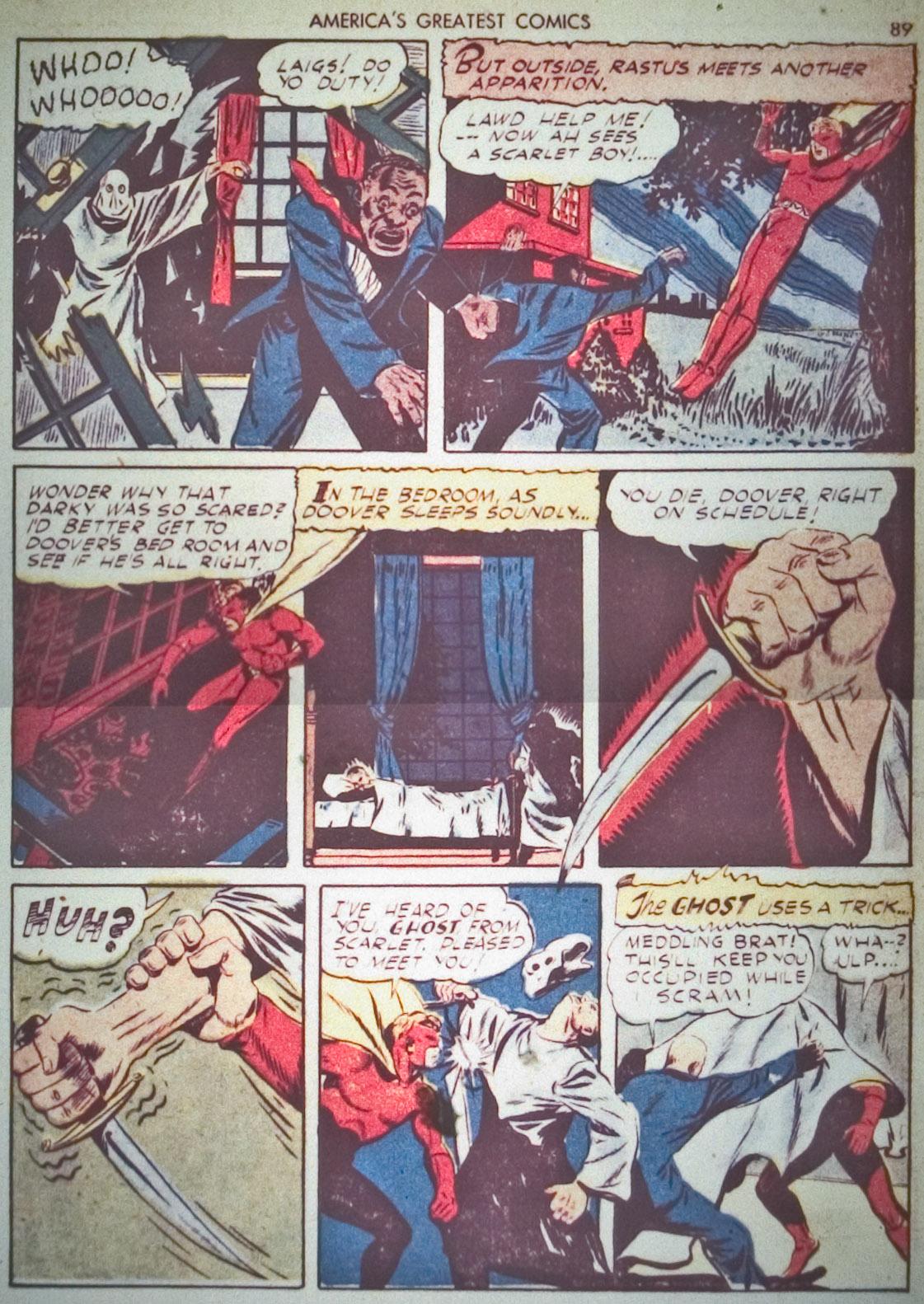 Read online America's Greatest Comics comic -  Issue #1 - 92