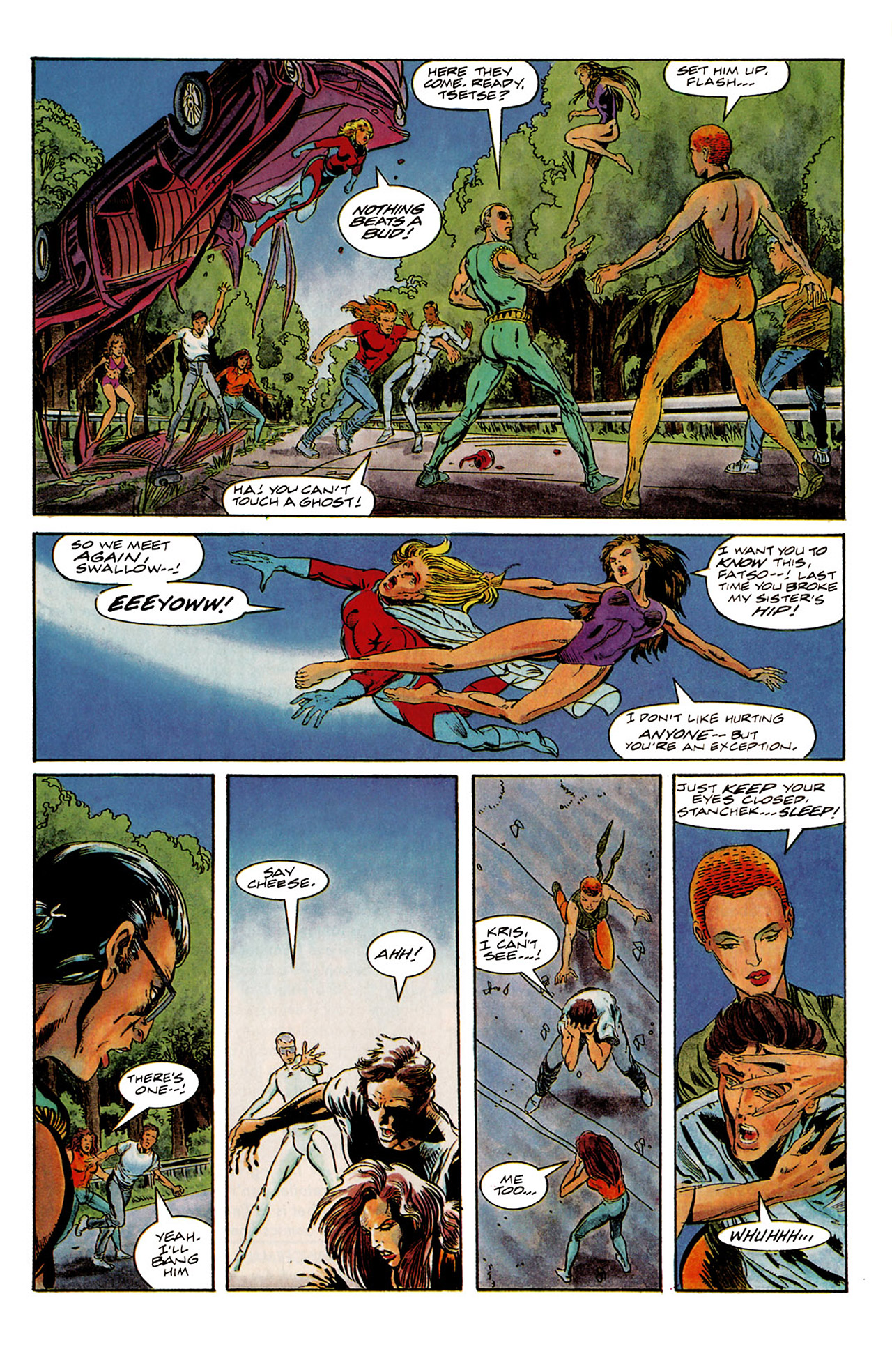 Read online Harbinger (1992) comic -  Issue #6 - 16