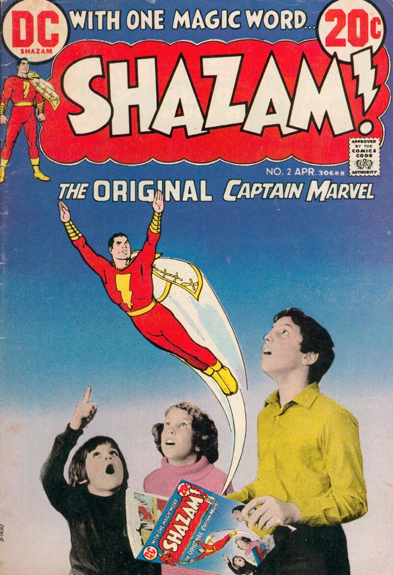 Shazam! (1973) issue 2 - Page 1