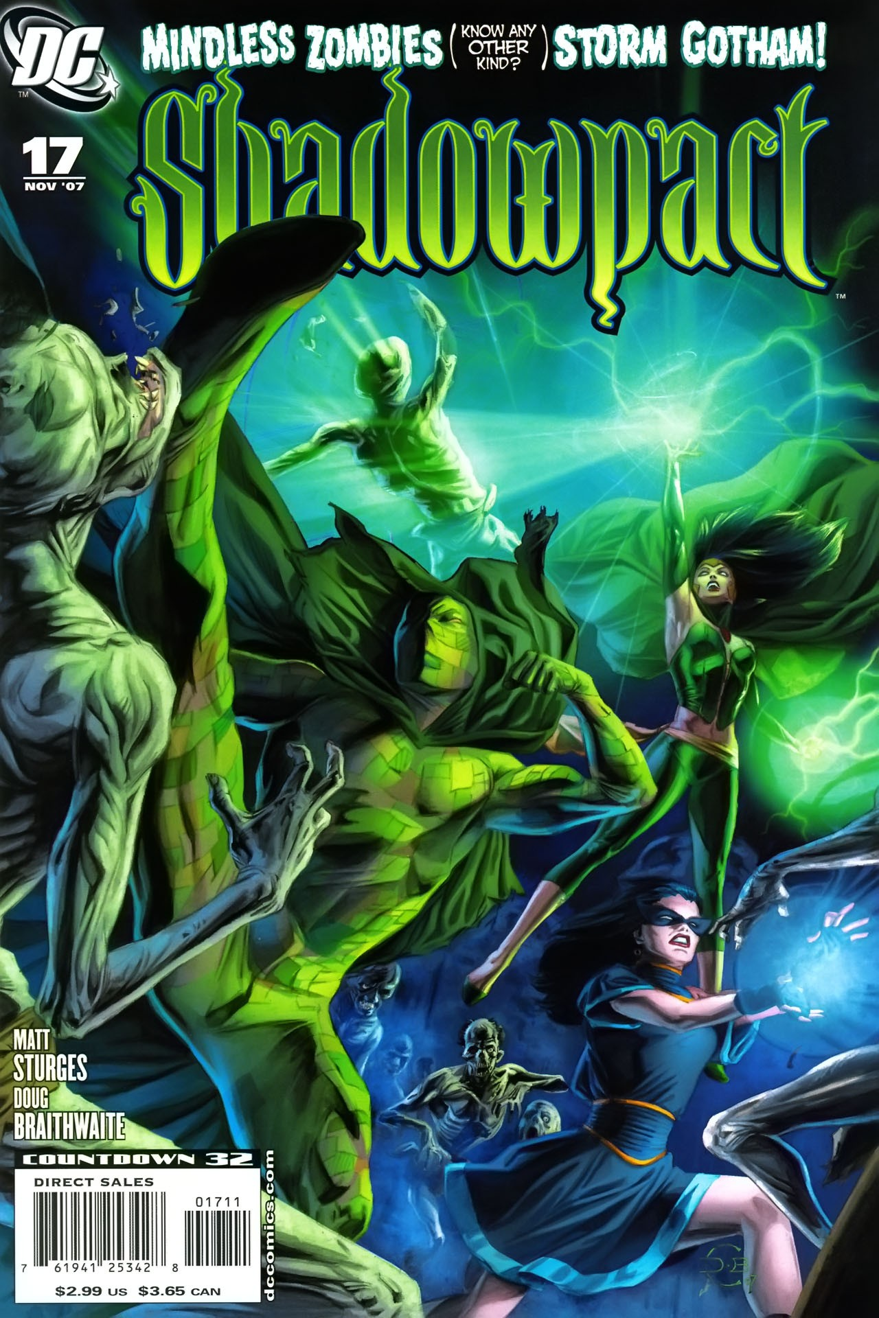 Read online Shadowpact comic -  Issue #17 - 1