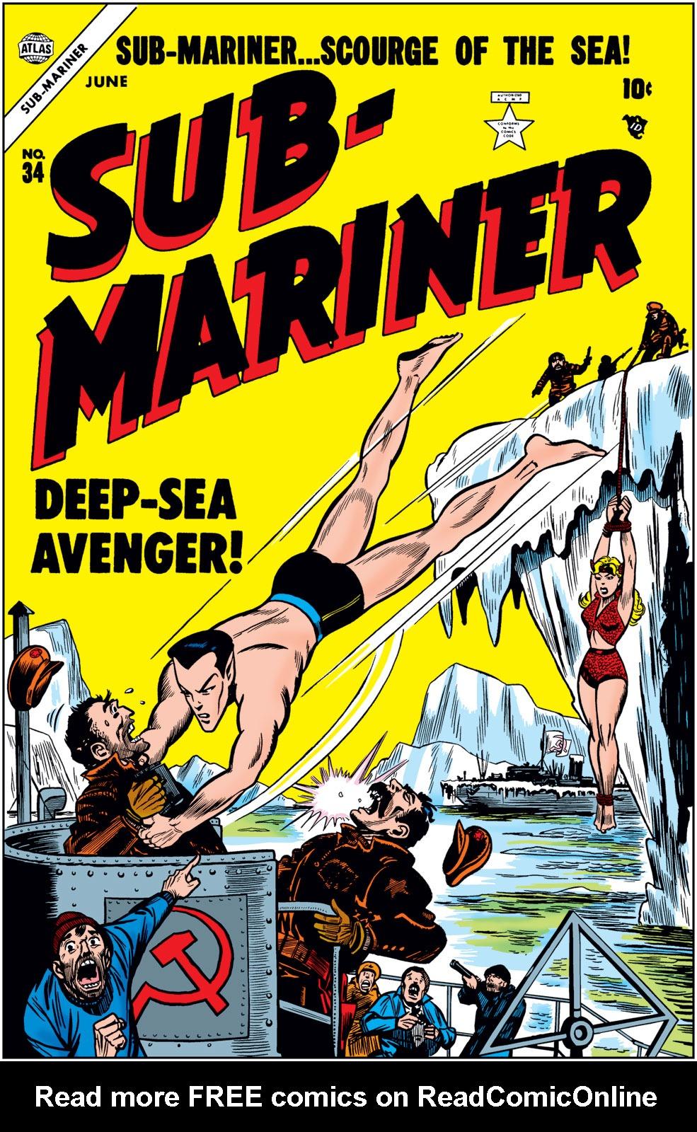 Sub-Mariner Comics issue 34 - Page 1