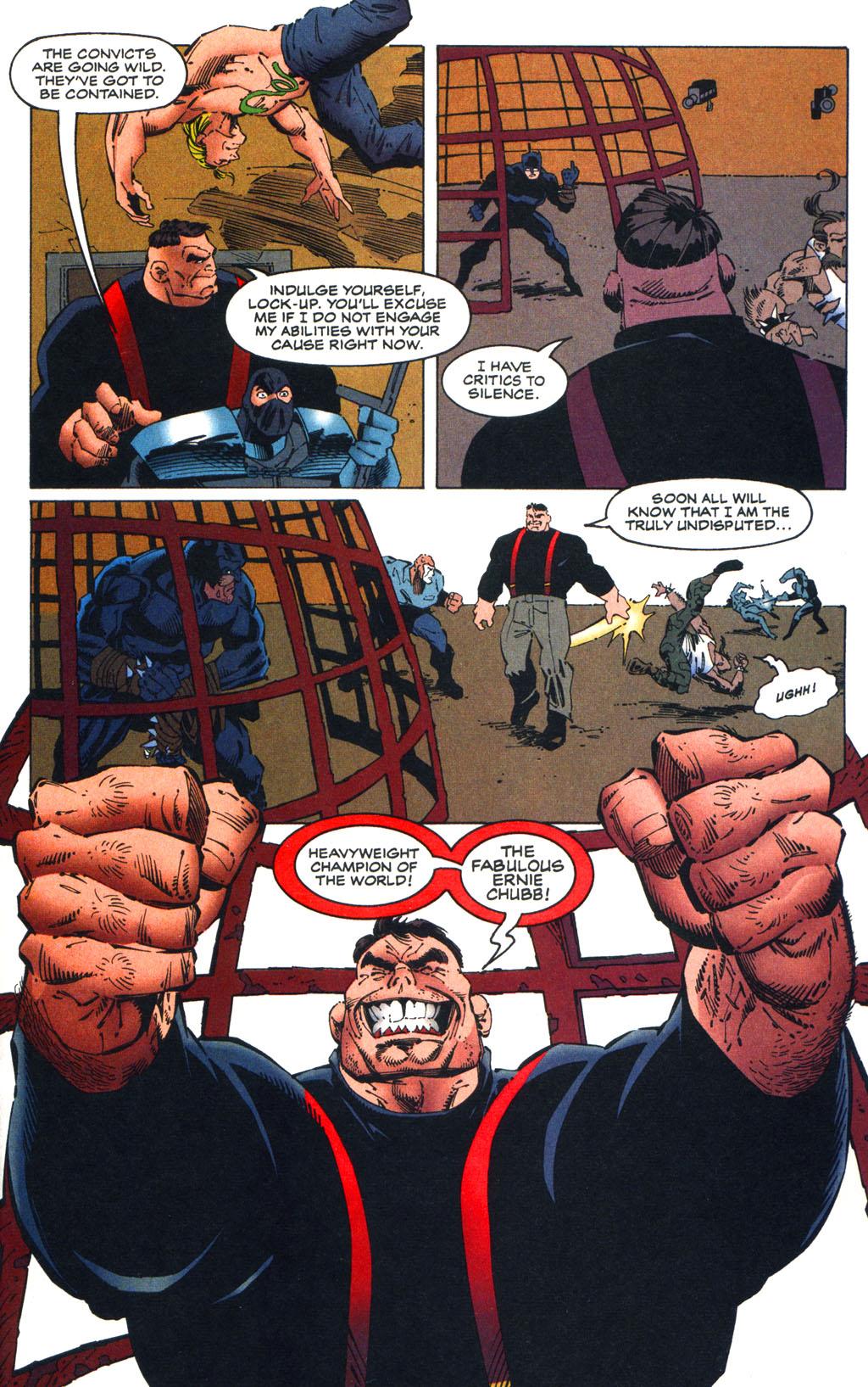 Read online Batman/Wildcat comic -  Issue #3 - 16