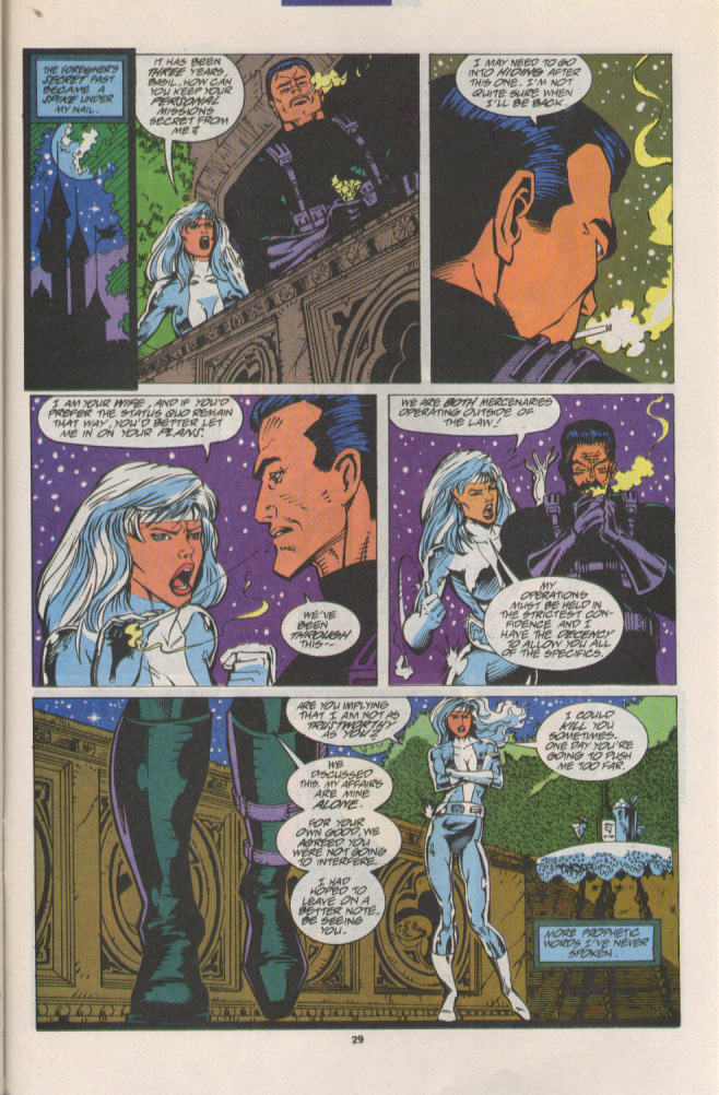 Read online Silver Sable and the Wild Pack comic -  Issue #15 - 22