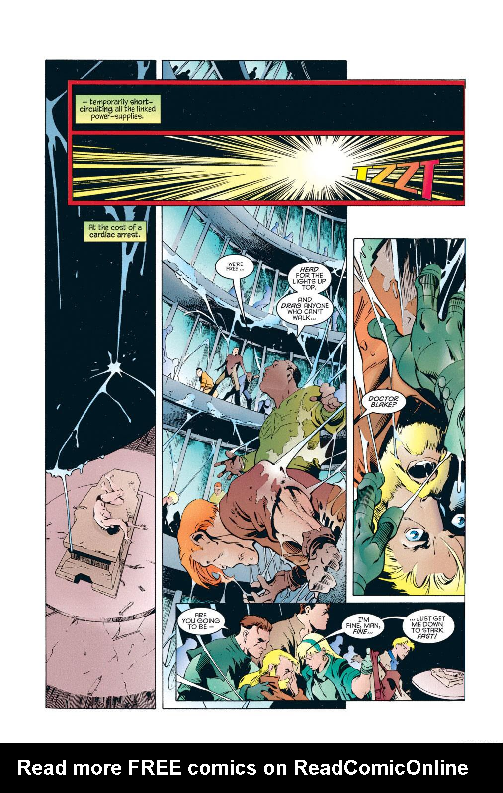 Read online X-Universe comic -  Issue #2 - 10