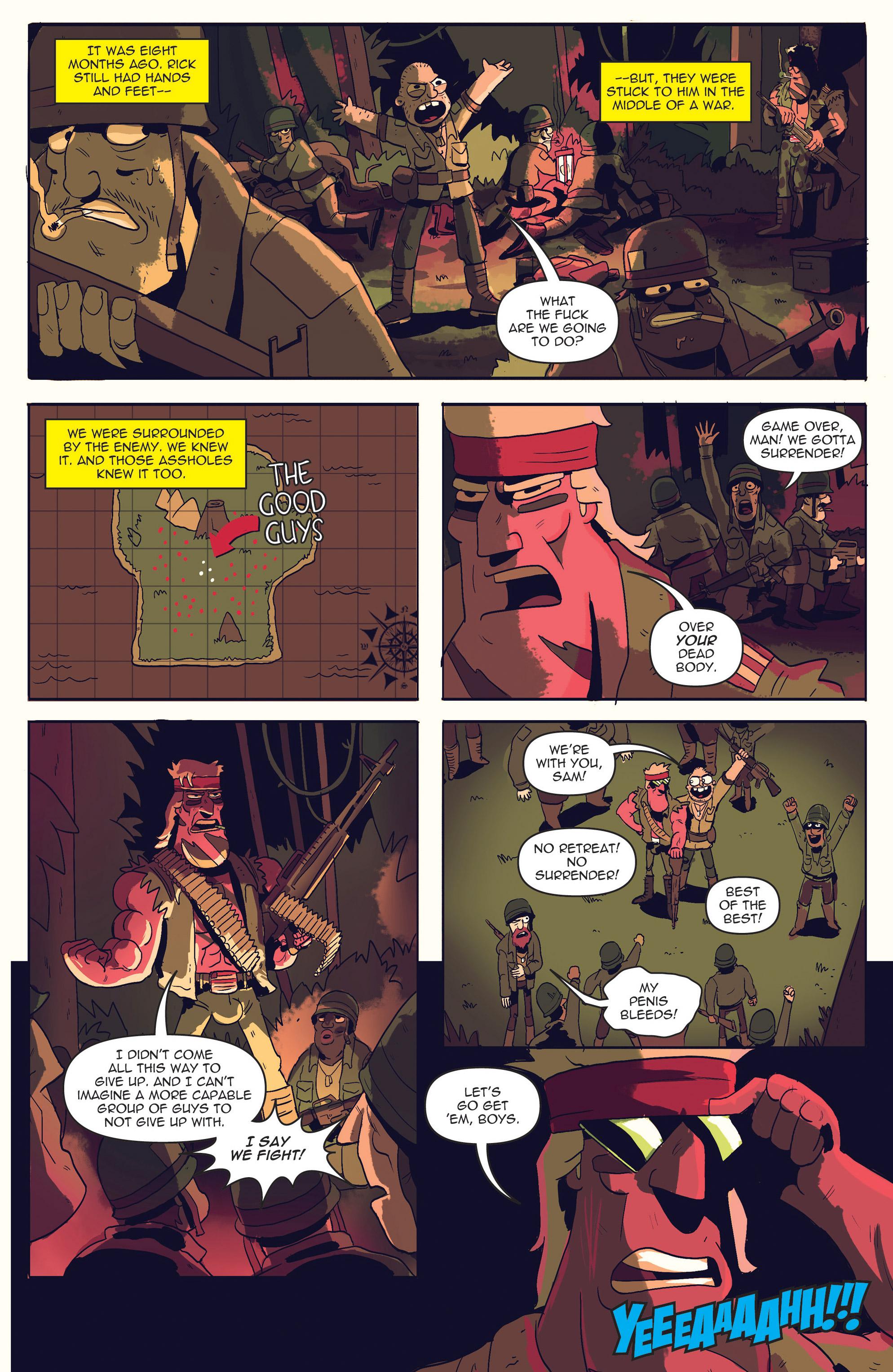 Read online AmeriKarate comic -  Issue #2 - 11