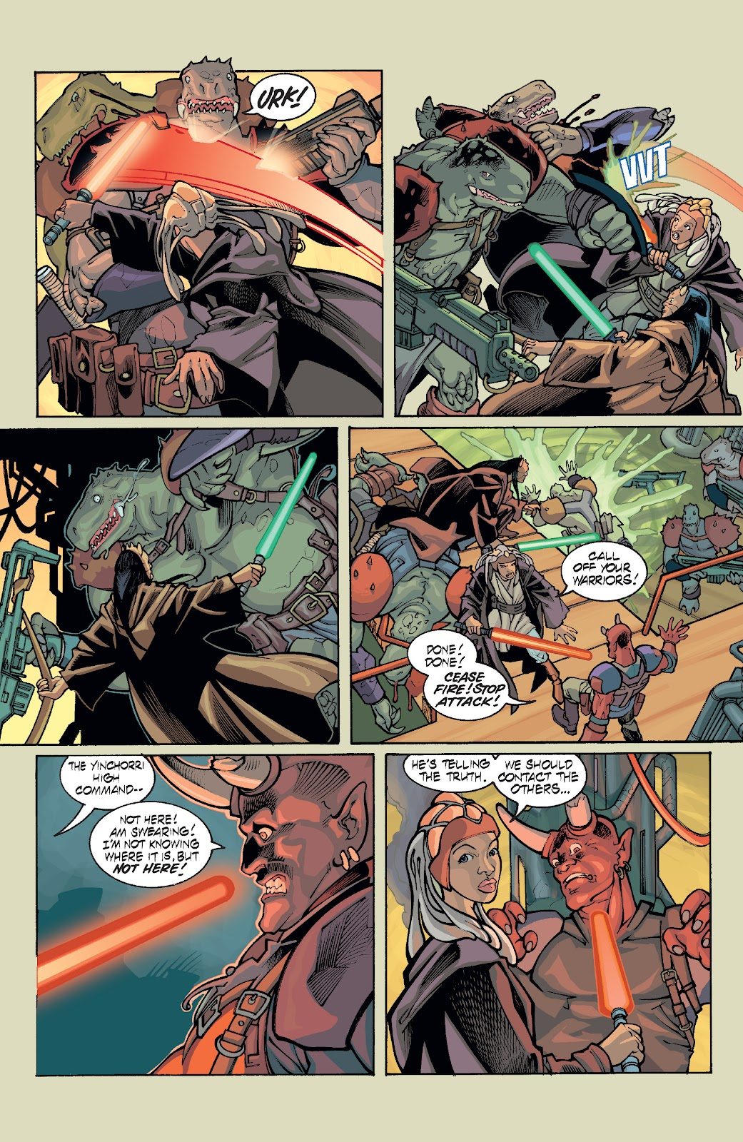Read online Star Wars Legends: Rise of the Sith - Epic Collection comic -  Issue # TPB 1 (Part 5) - 4
