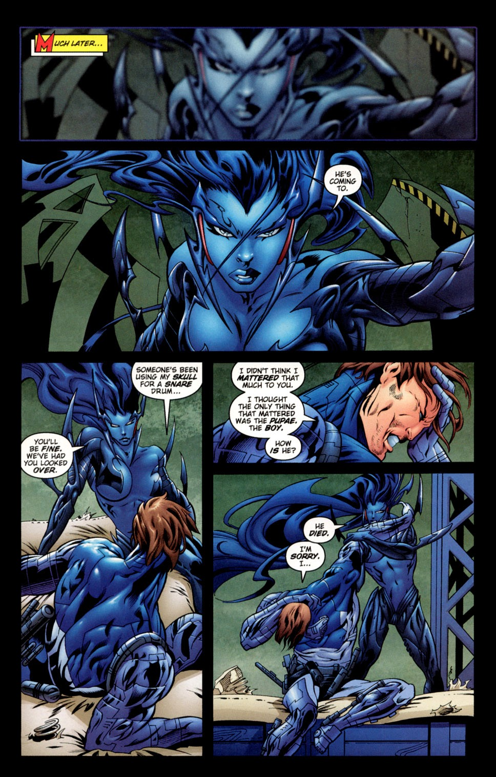 Read online C-23 comic -  Issue #3 - 12