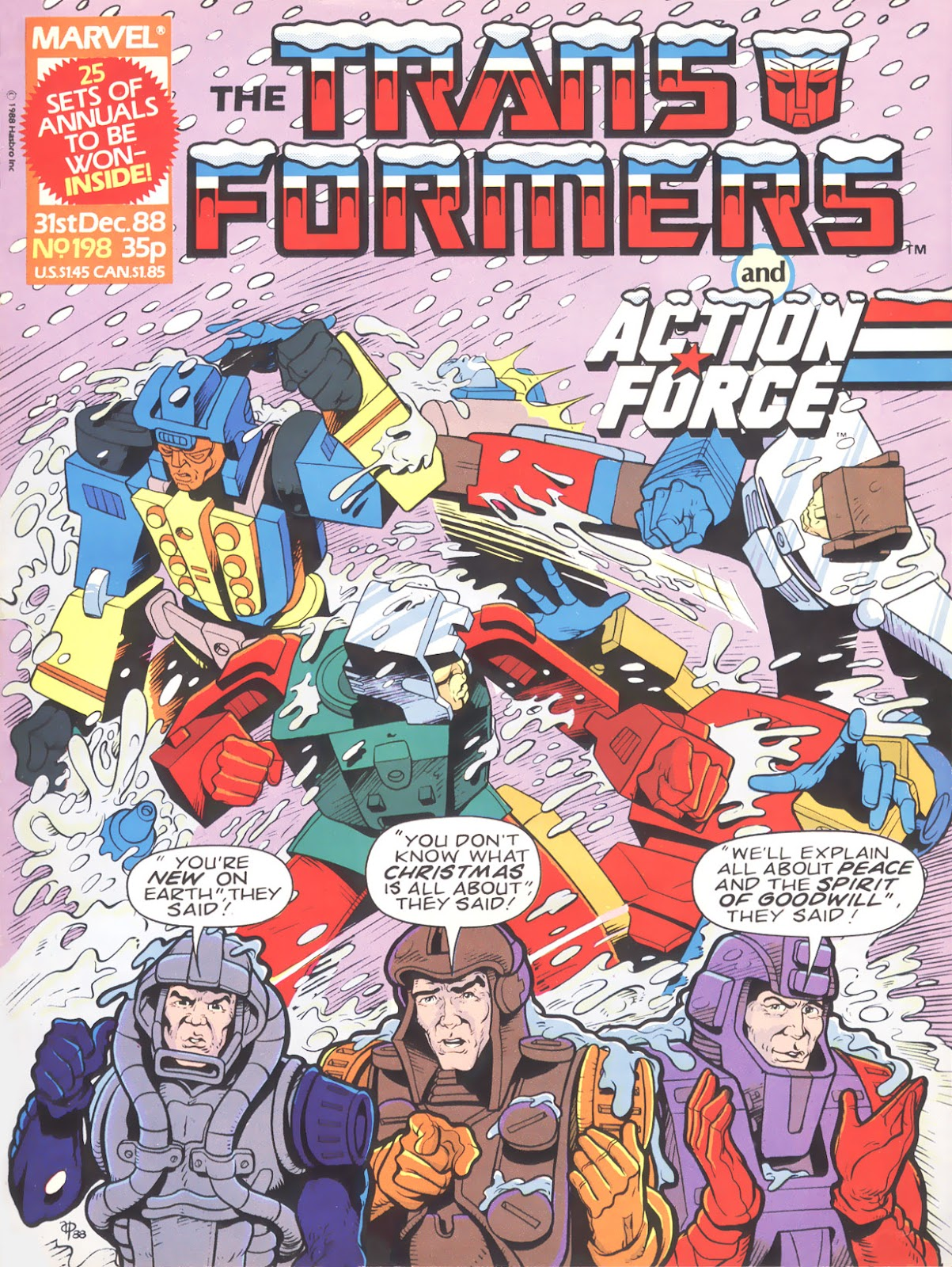 The Transformers (UK) 198 Page 1