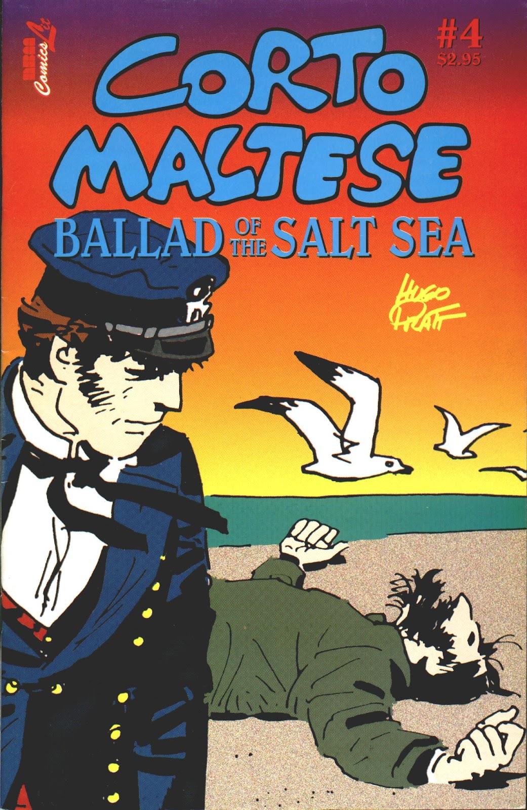 Corto Maltese: Ballad of the Salt Sea issue 4 - Page 1