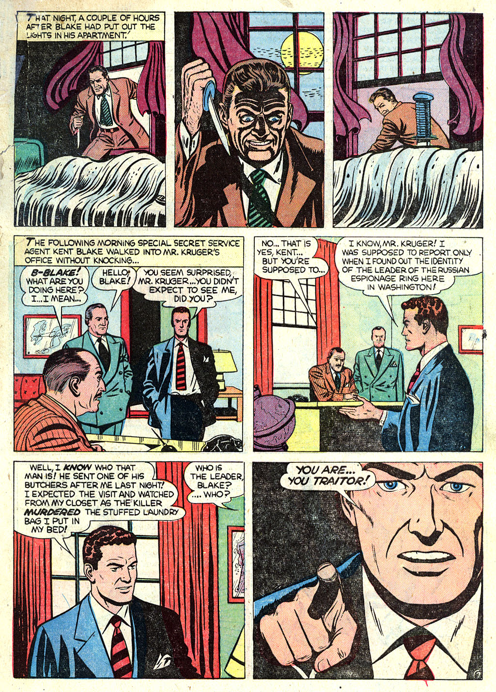 Kent Blake of the Secret Service issue 1 - Page 9