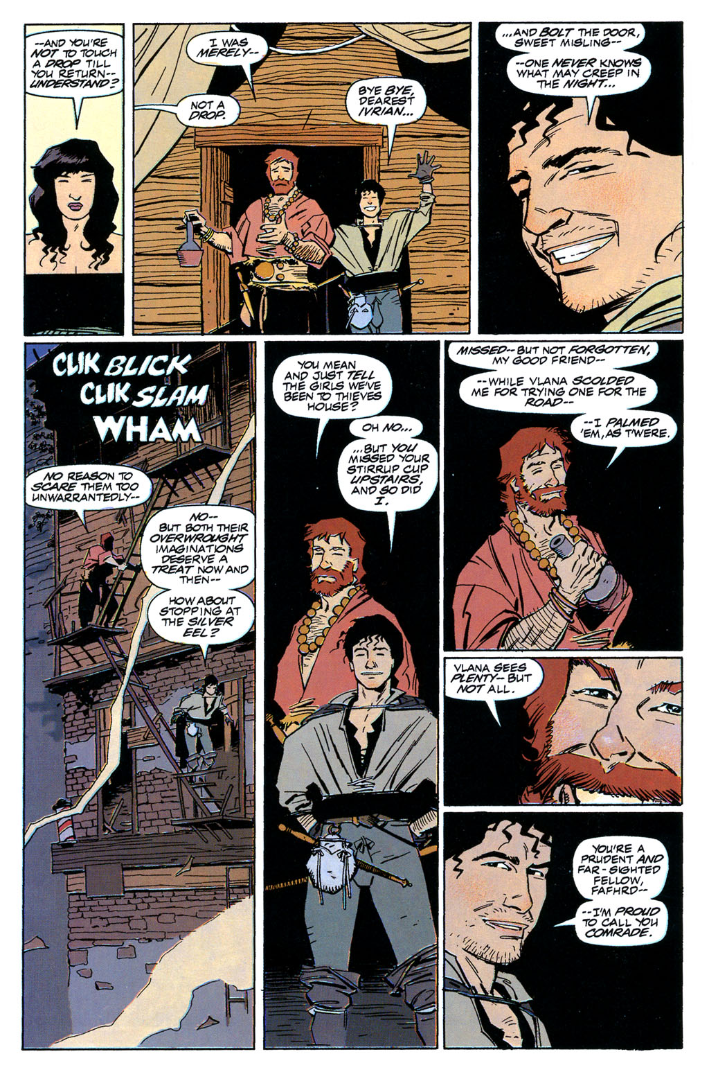Read online Fafhrd and the Gray Mouser comic -  Issue #1 - 16