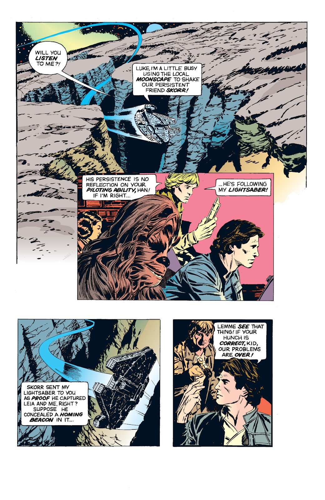 Read online Star Wars Legends: The Newspaper Strips - Epic Collection comic -  Issue # TPB (Part 5) - 18
