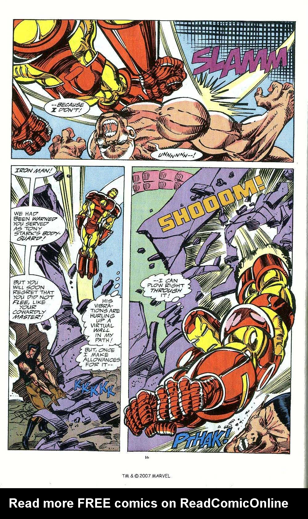 Iron Man Annual issue 12 - Page 18