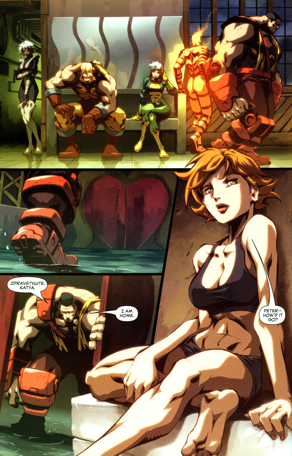 Read online X-Men: Age of Apocalypse One-Shot comic -  Issue # Full - 7