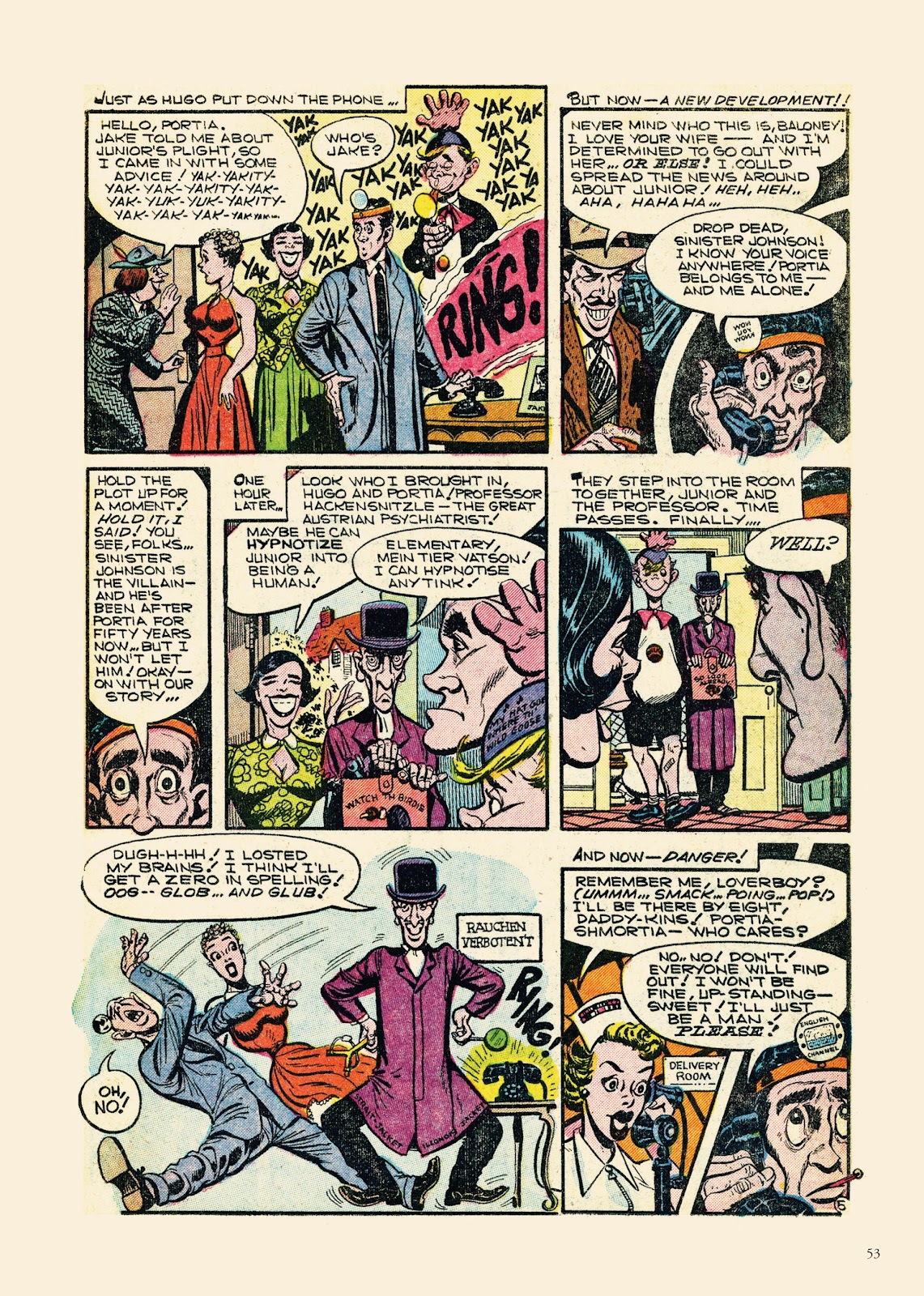 Read online Sincerest Form of Parody: The Best 1950s MAD-Inspired Satirical Comics comic -  Issue # TPB (Part 1) - 54