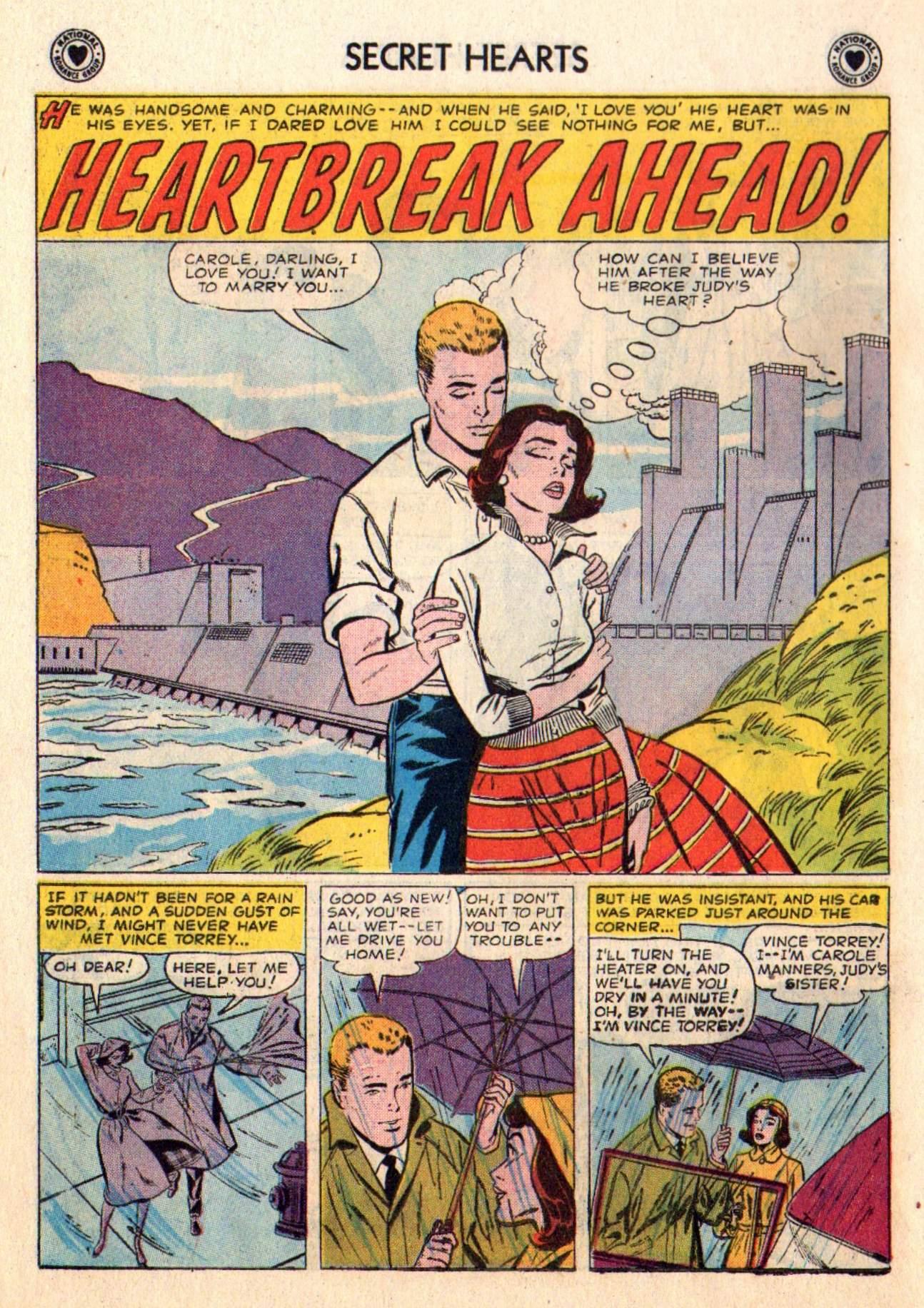 Read online Secret Hearts comic -  Issue #48 - 18