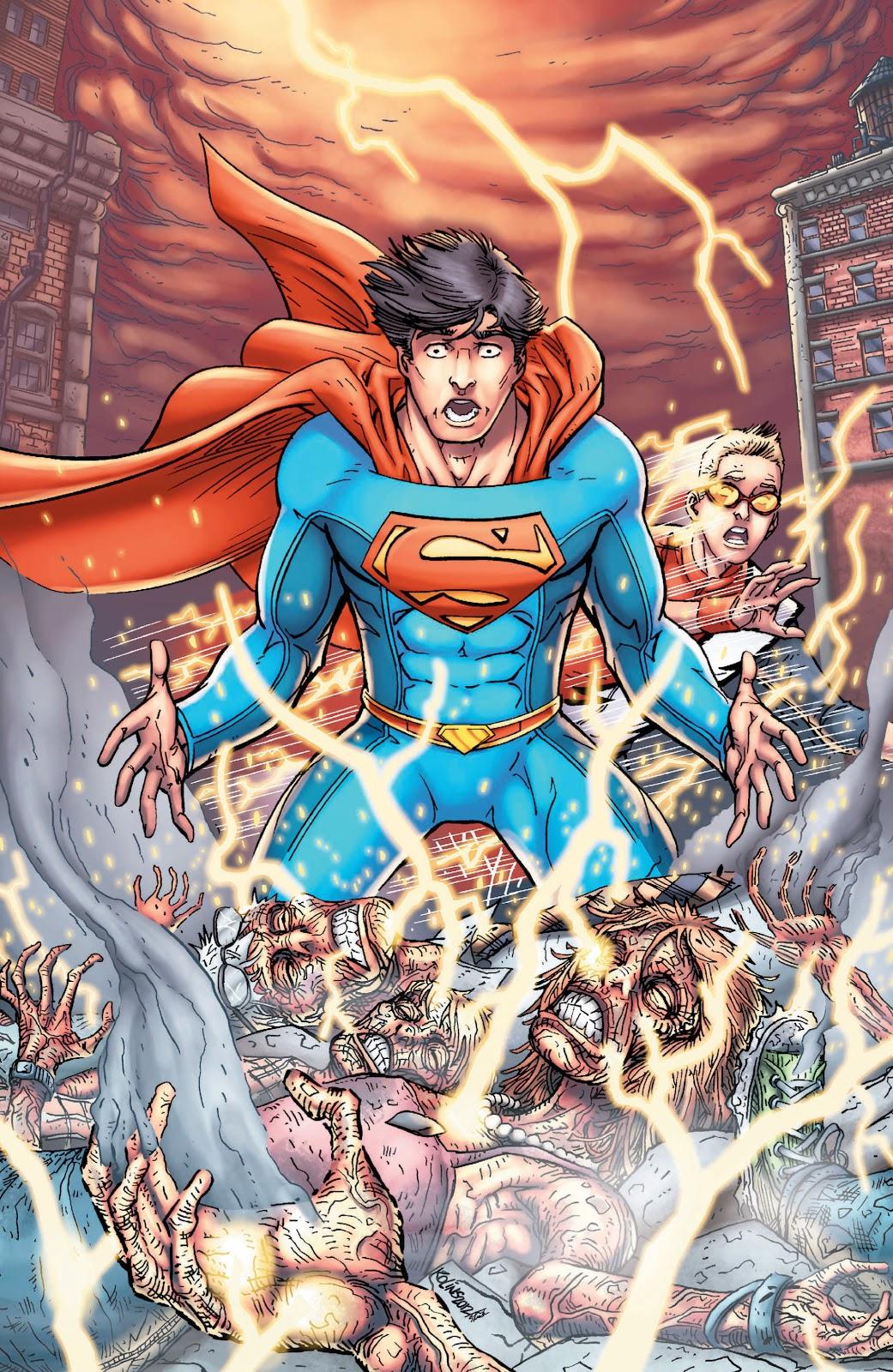 Read online Smallville Season 11 [II] comic -  Issue # TPB 3 - 37