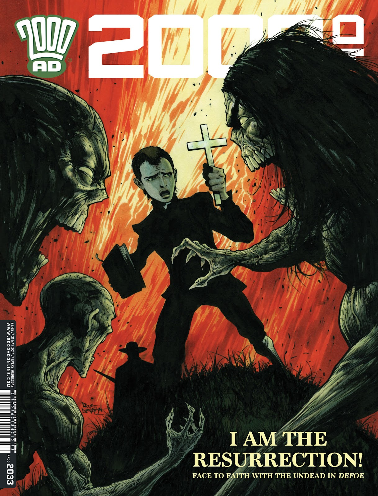 Read online 2000 AD comic -  Issue #2033 - 1