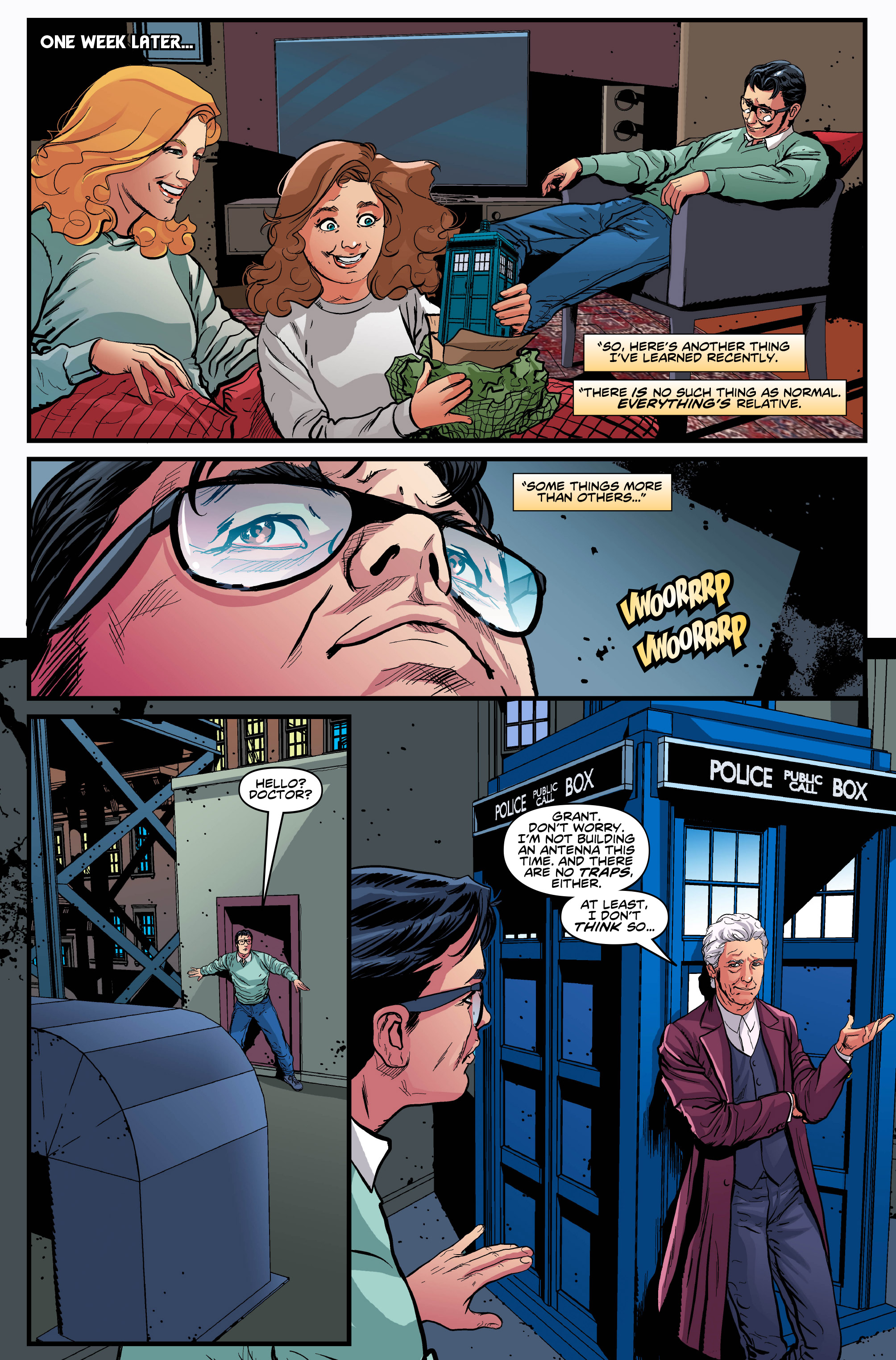 Read online Doctor Who: Ghost Stories comic -  Issue #8 - 11