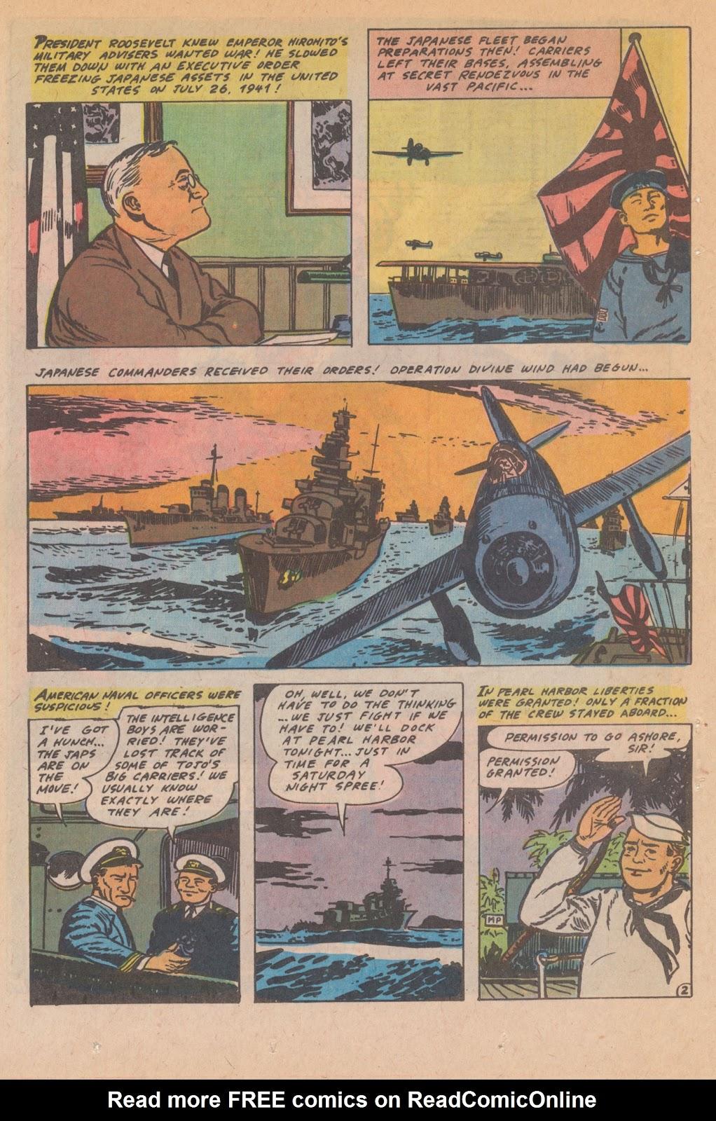 Read online Fightin' Navy comic -  Issue #132 - 16