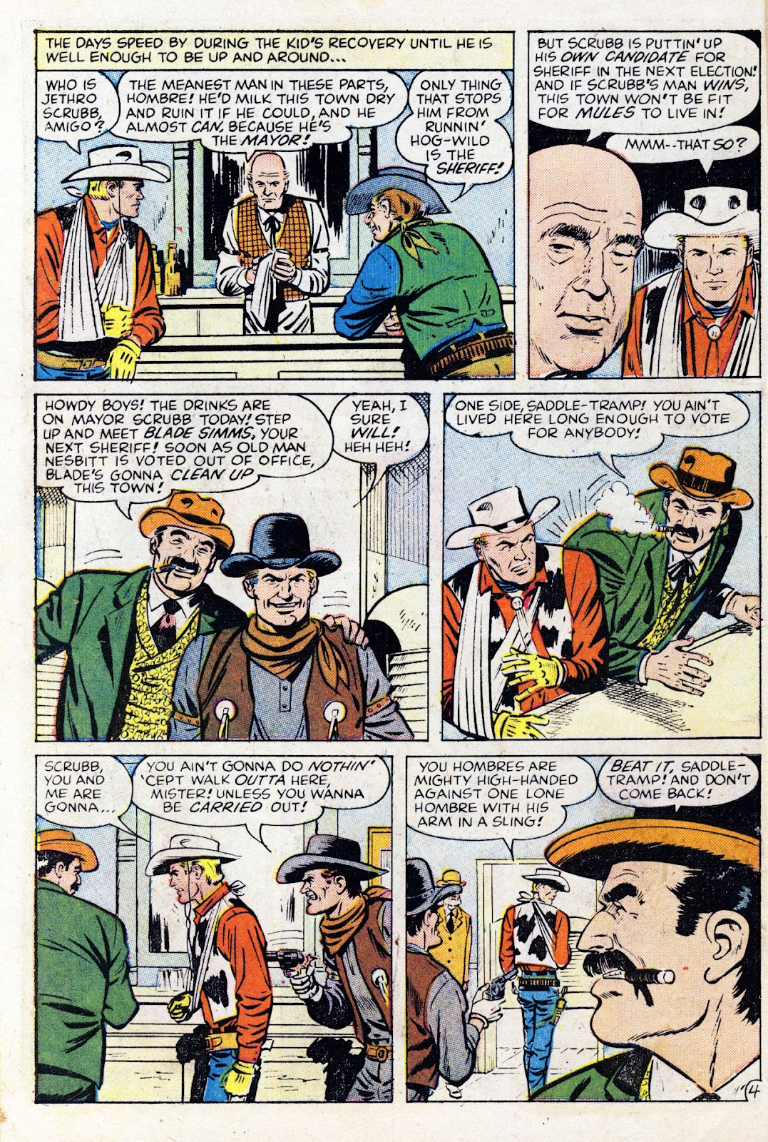 Gunsmoke Western issue 76 - Page 6