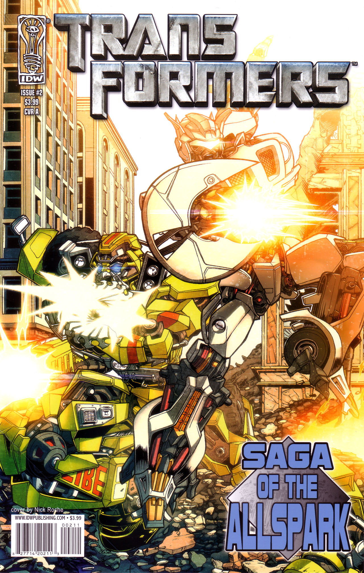 Read online Transformers: Saga of the Allspark comic -  Issue #2 - 1