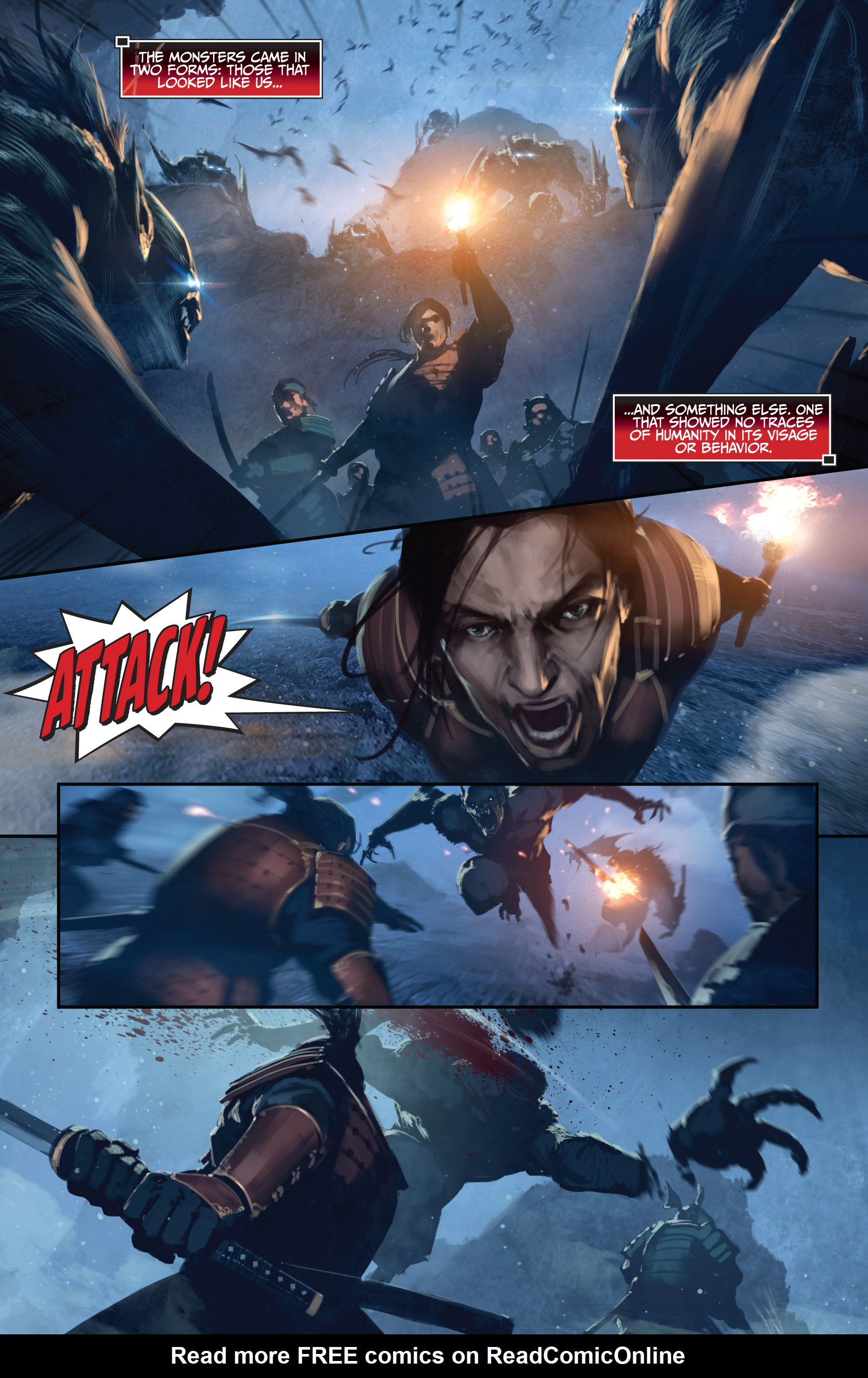 Read online Bushido: The Way of the Warrior comic -  Issue #4 - 16