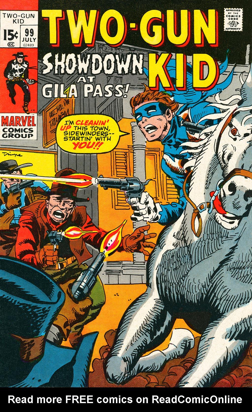 Read online Two-Gun Kid comic -  Issue #99 - 1
