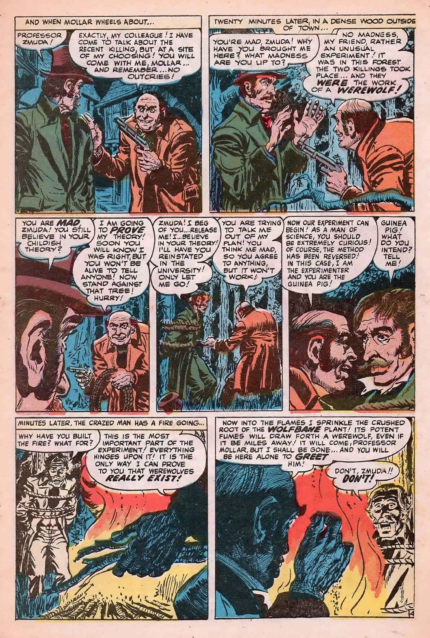 Read online Adventures into Weird Worlds comic -  Issue #20 - 31