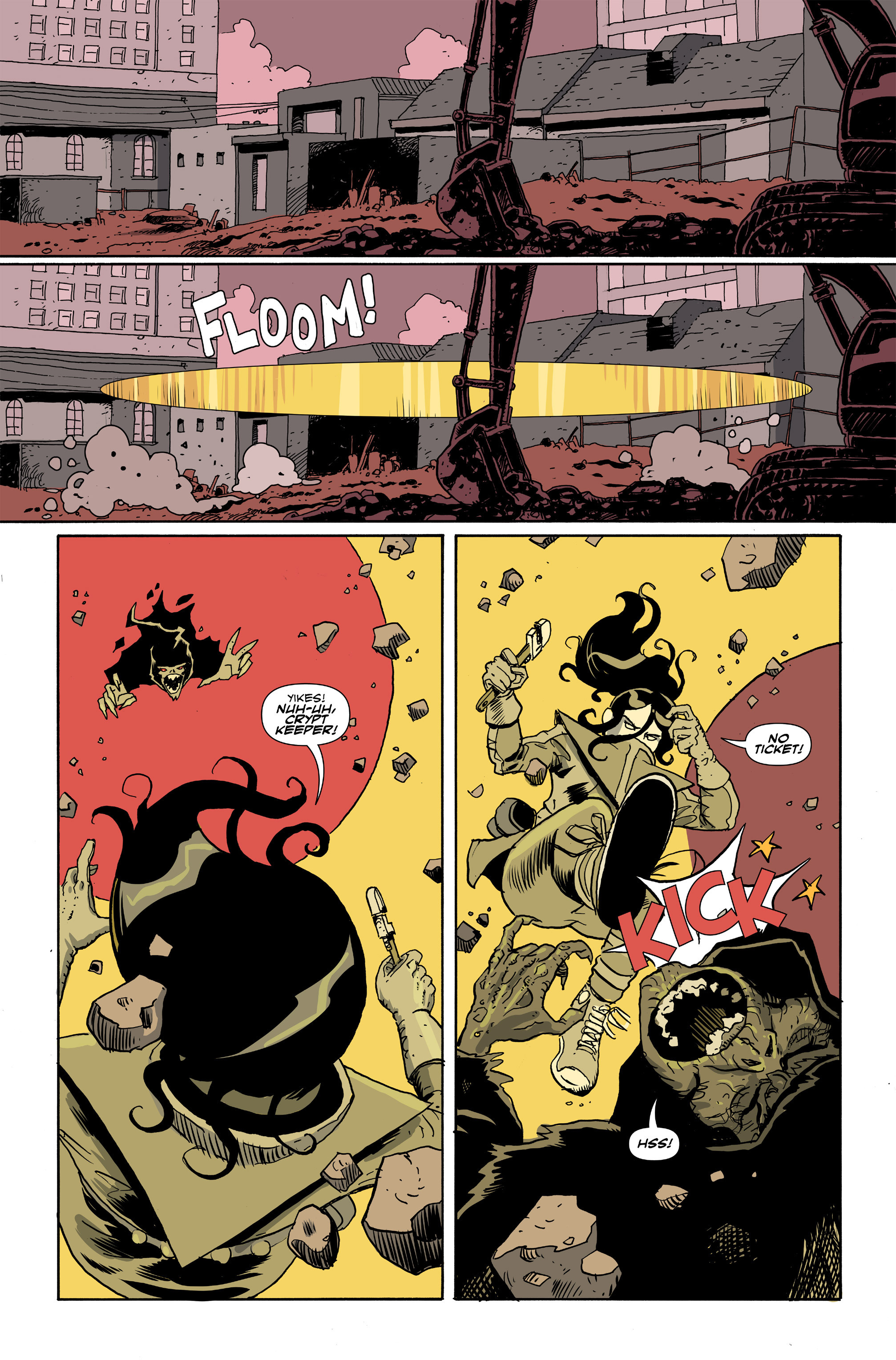 Read online Amelia Cole Versus The End of Everything comic -  Issue #26 - 11