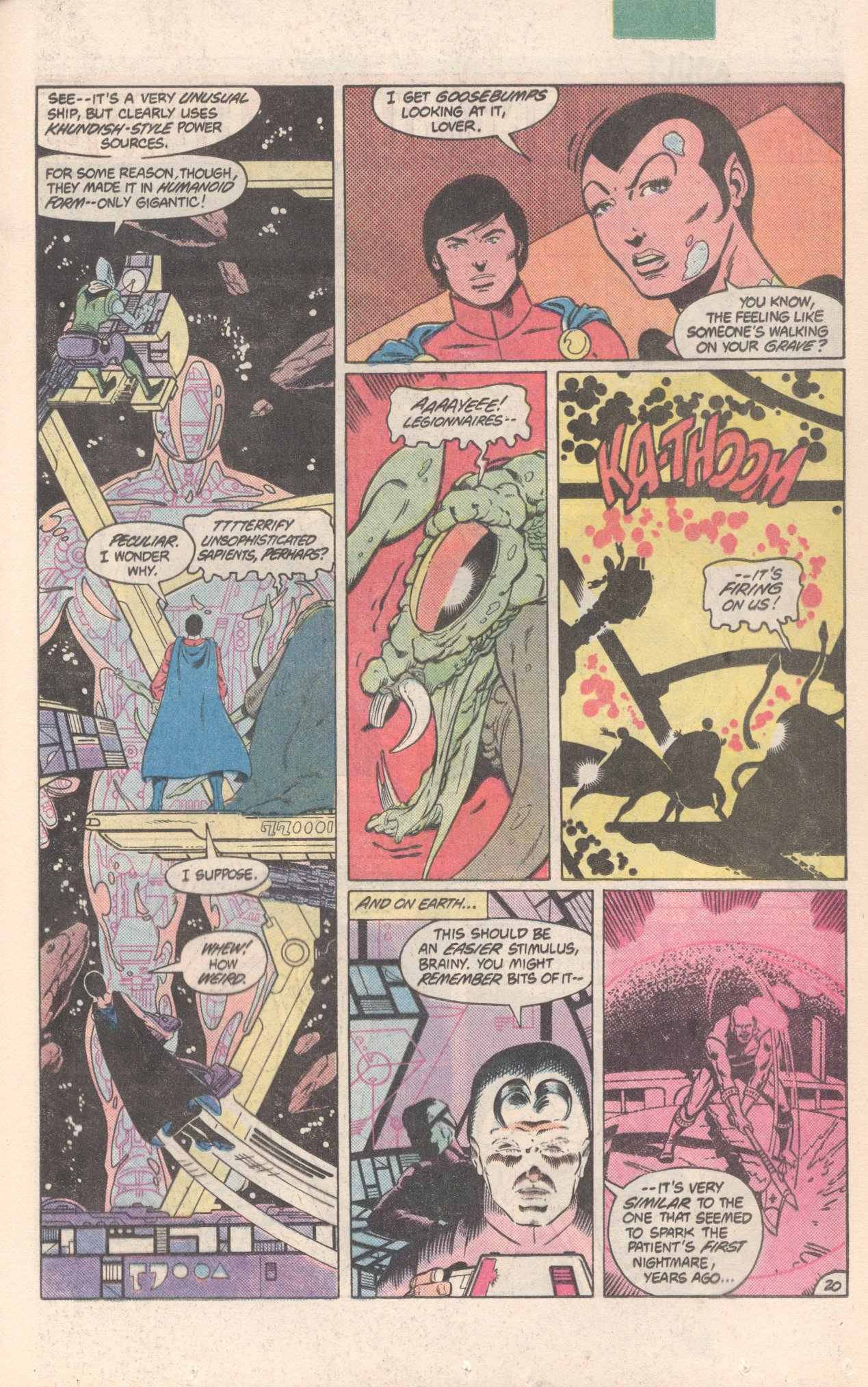 Legion of Super-Heroes (1980) 300 Page 20
