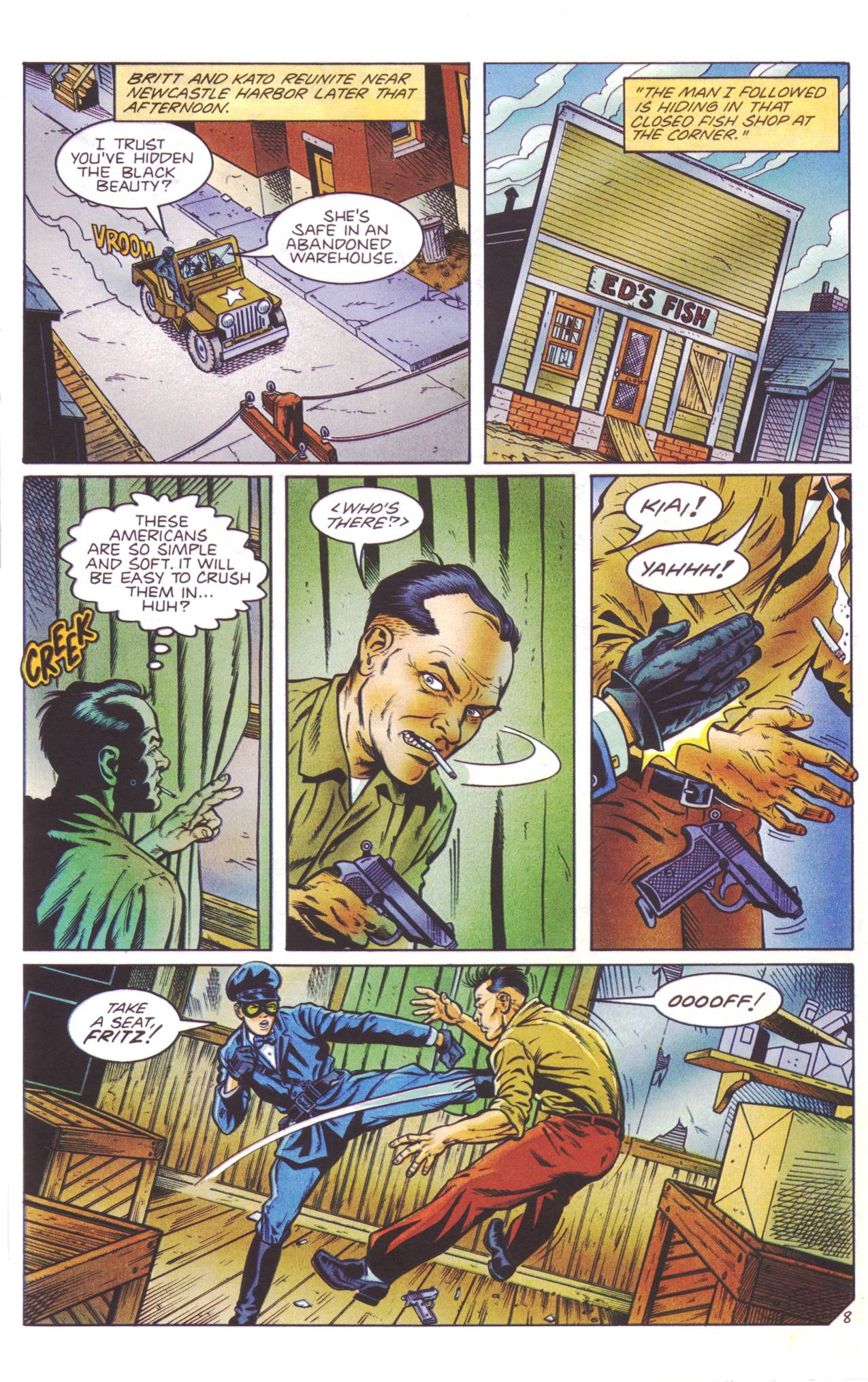 Read online Sting of The Green Hornet comic -  Issue #4 - 9