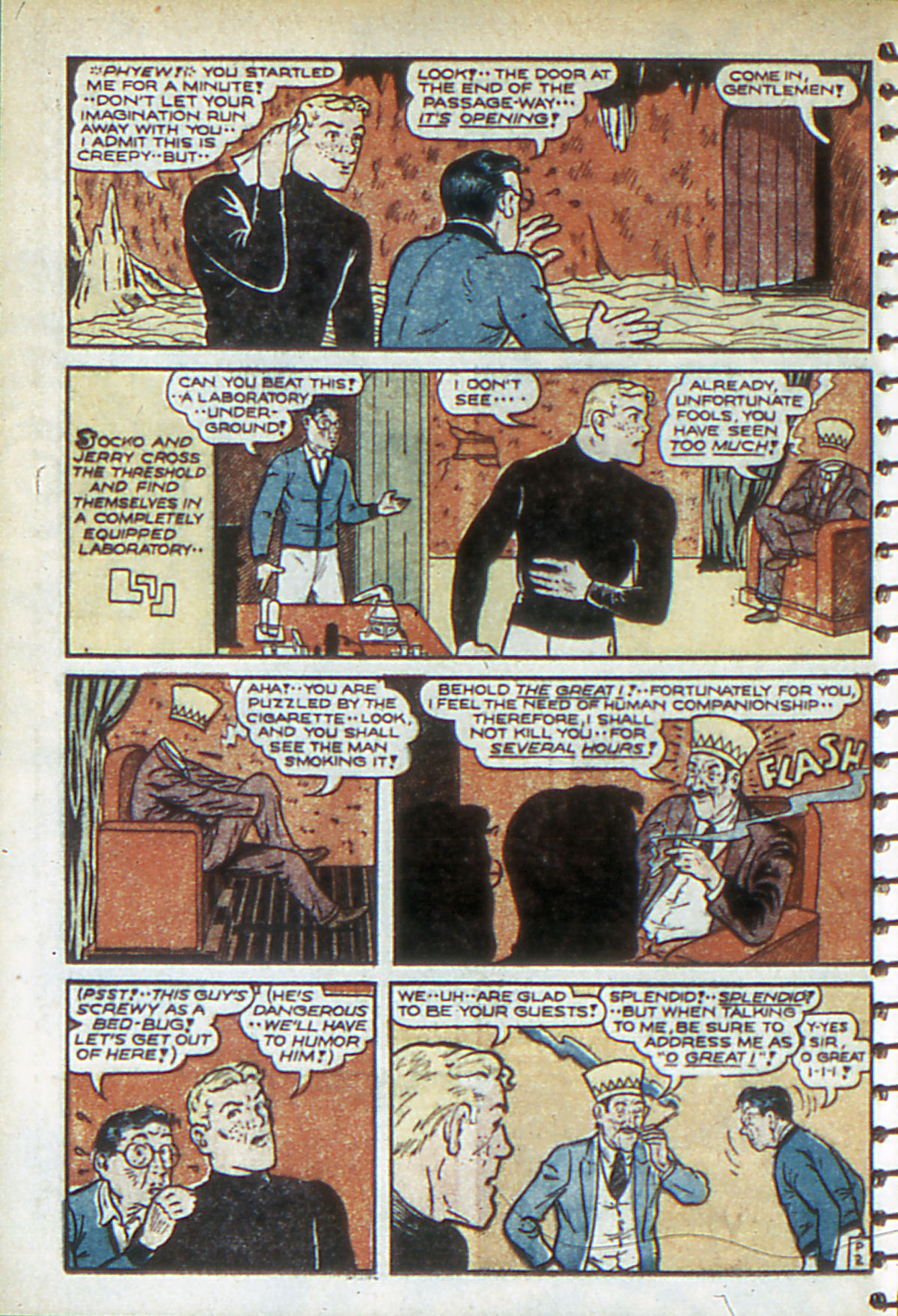 Read online Adventure Comics (1938) comic -  Issue #52 - 48