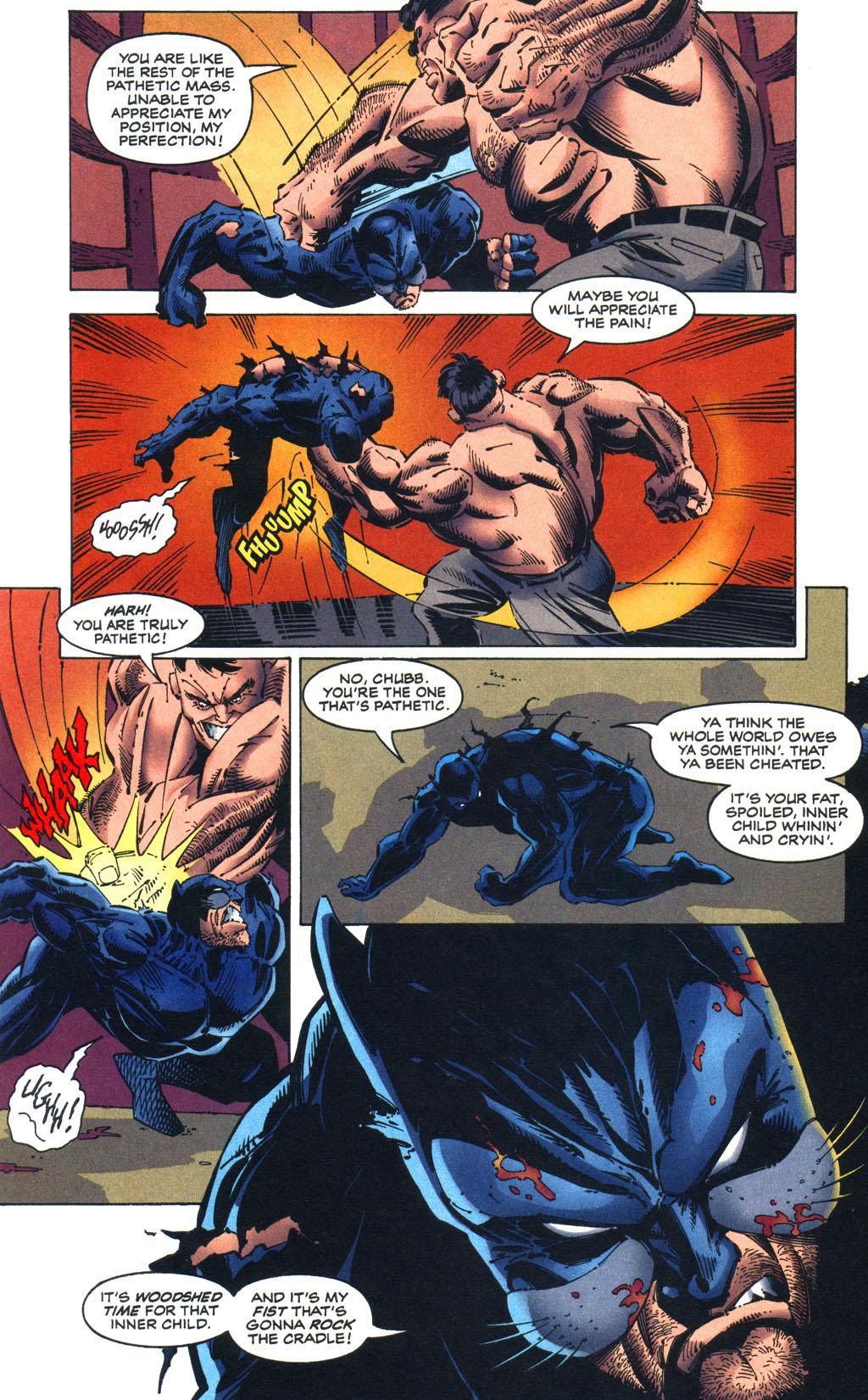 Read online Batman/Wildcat comic -  Issue #3 - 18