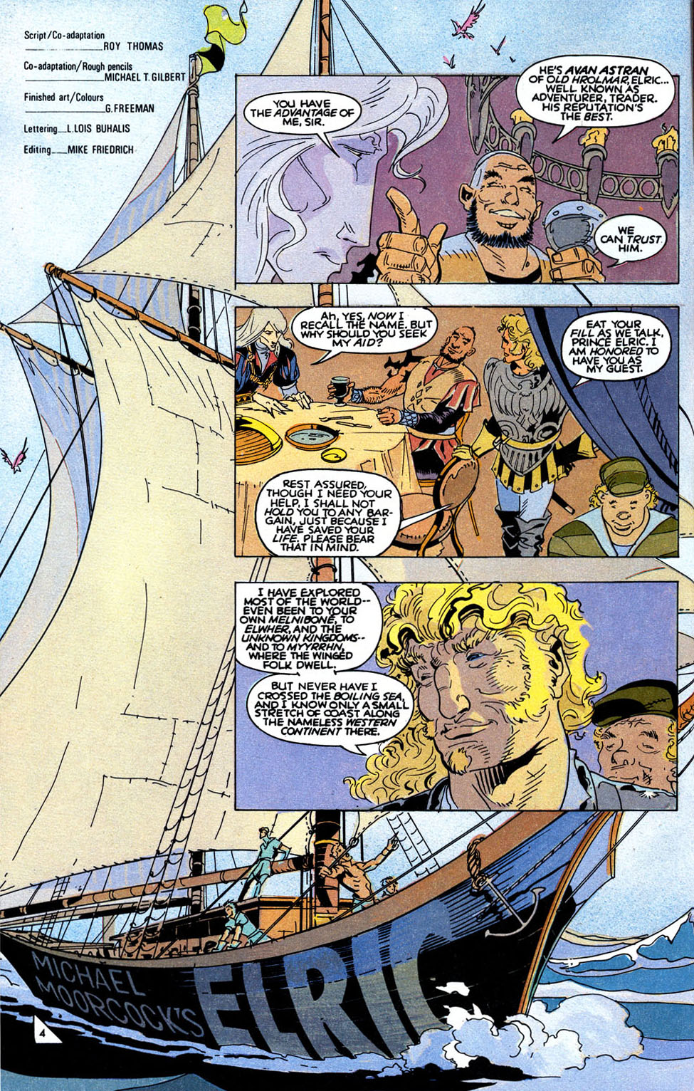 Read online Elric: Sailor on the Seas of Fate comic -  Issue #6 - 6